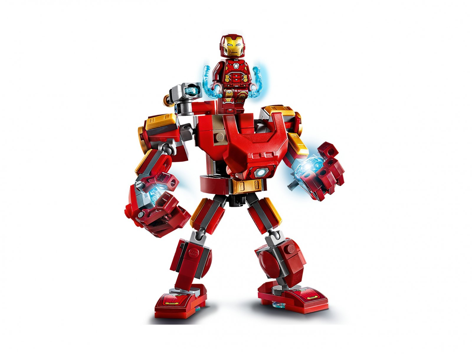 LEGO Marvel Avengers Mech Iron Mana 76140