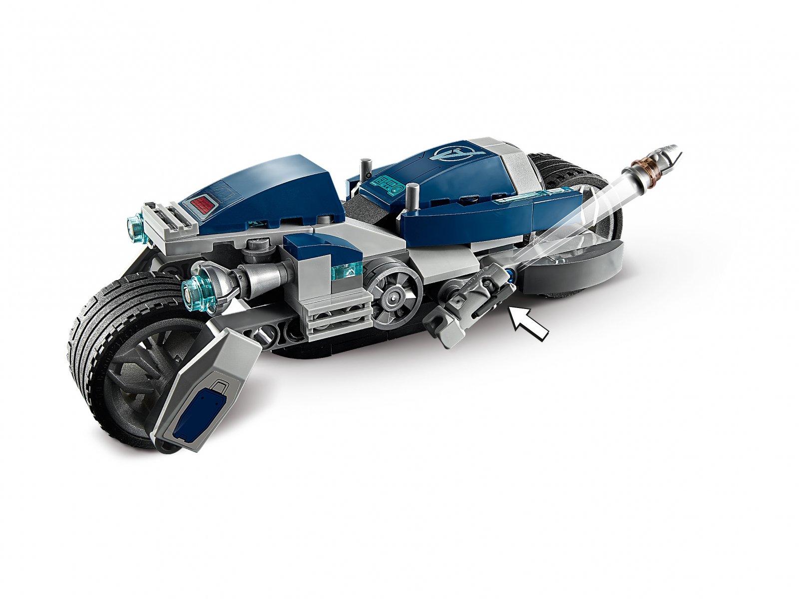 LEGO Marvel Avengers Avengers Walka na motocyklu 76142