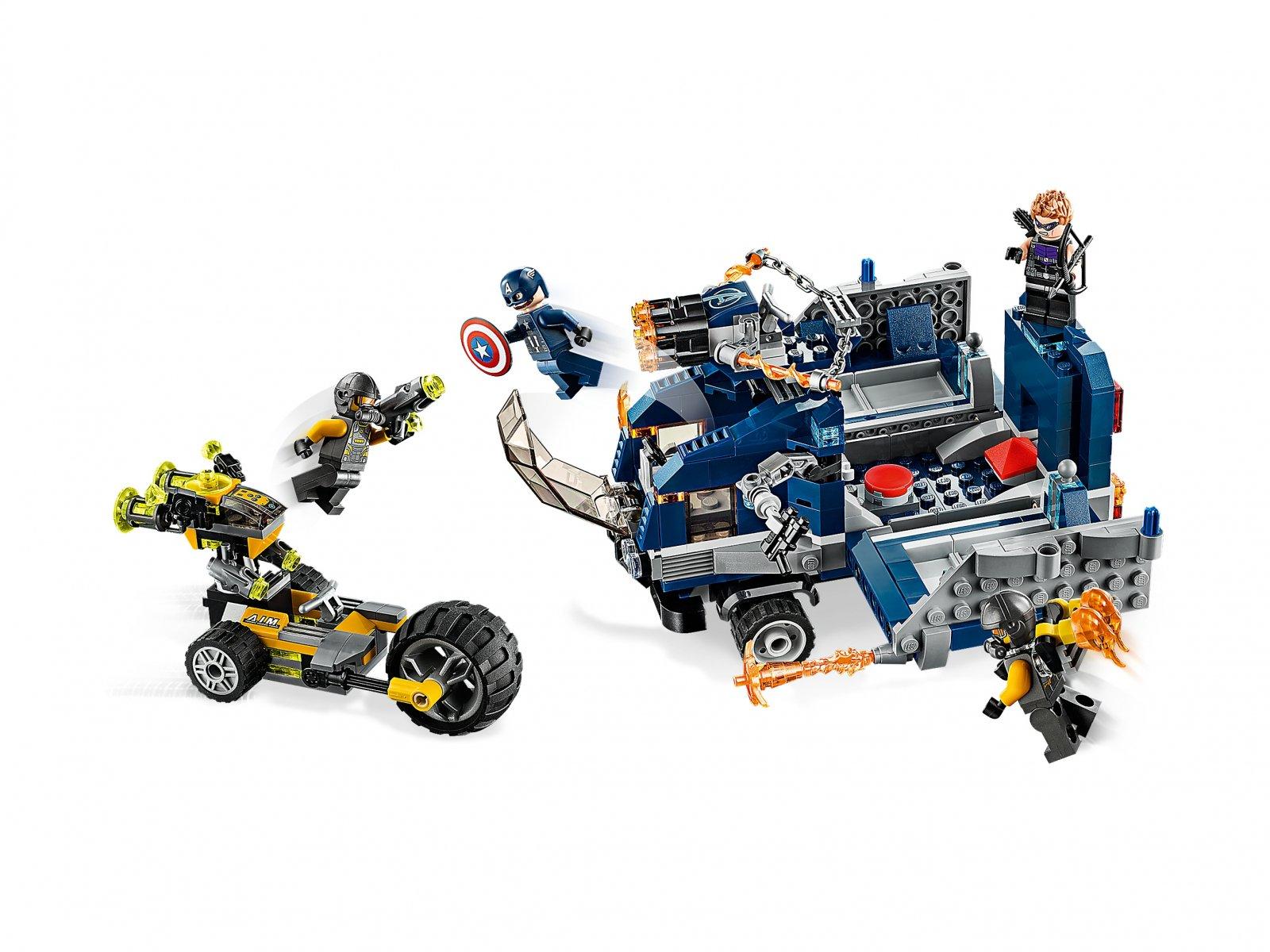 LEGO 76143 Avengers: Zatrzymanie ciężarówki