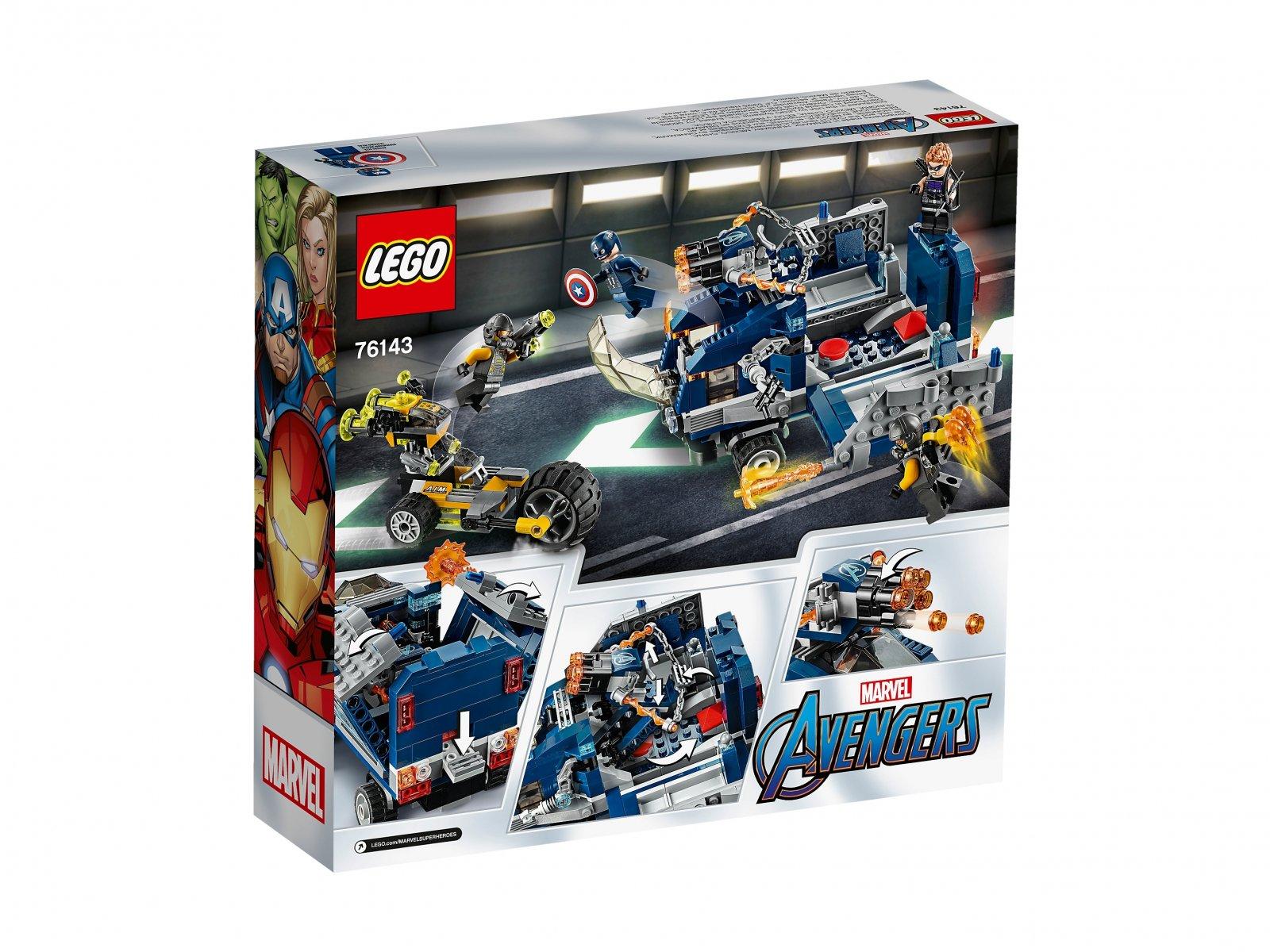 LEGO 76143 Marvel Avengers Avengers: Zatrzymanie ciężarówki