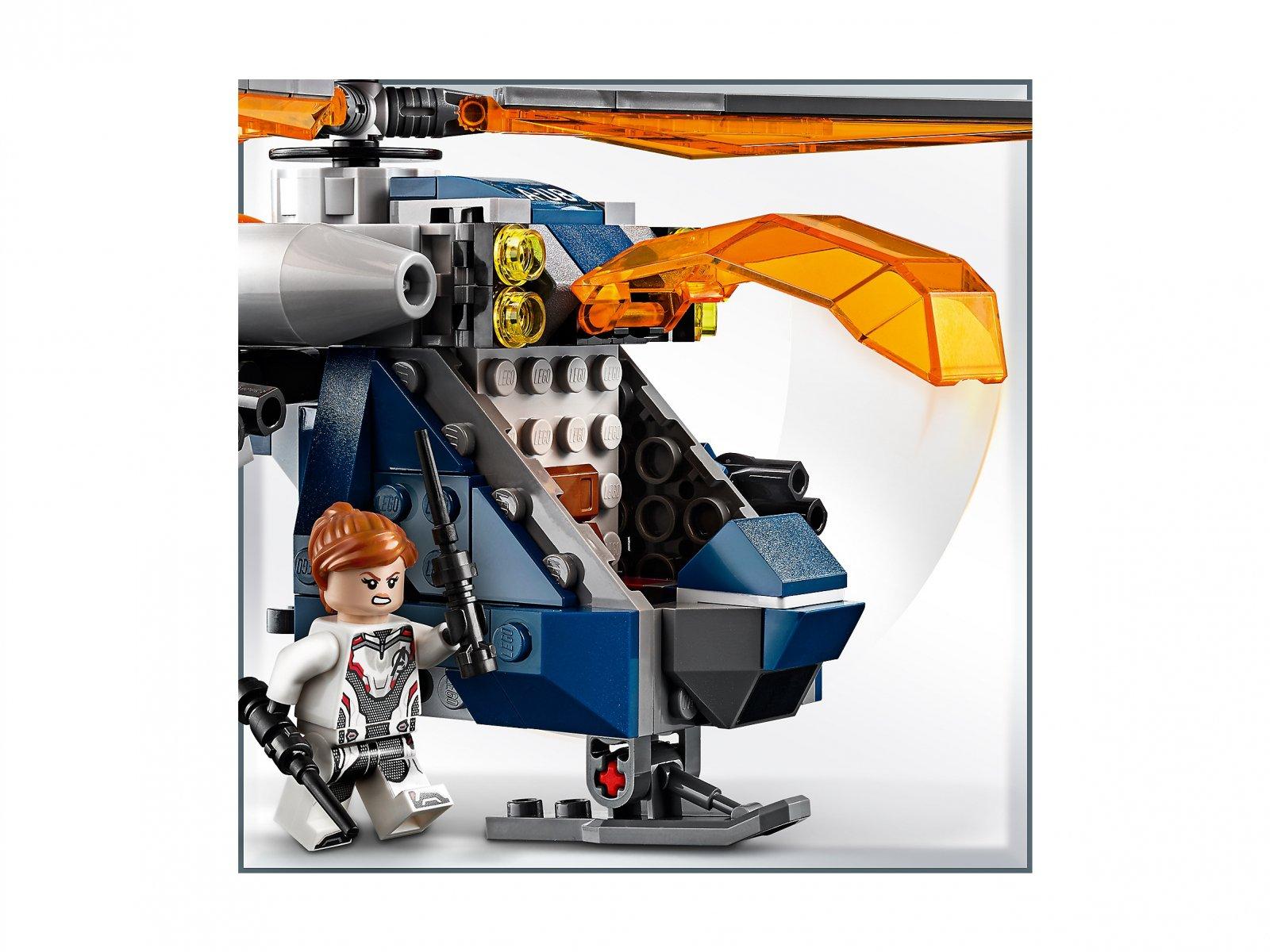 LEGO 76144 Avengers: Upadek helikoptera Hulka