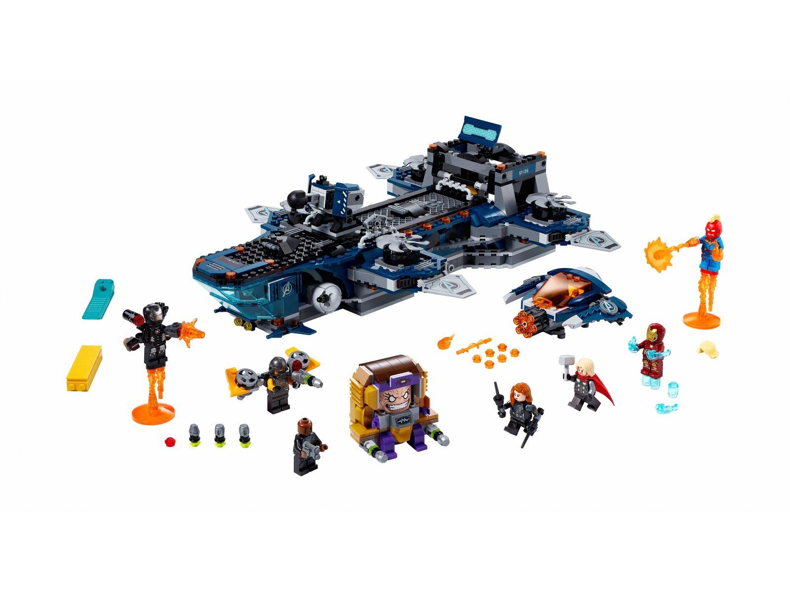 LEGO 76153 Marvel Avengers Avengers Lotniskowiec