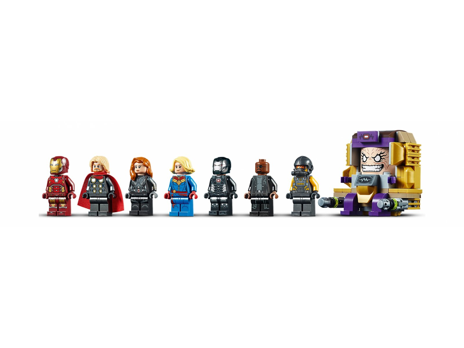 LEGO 76153 Avengers Lotniskowiec