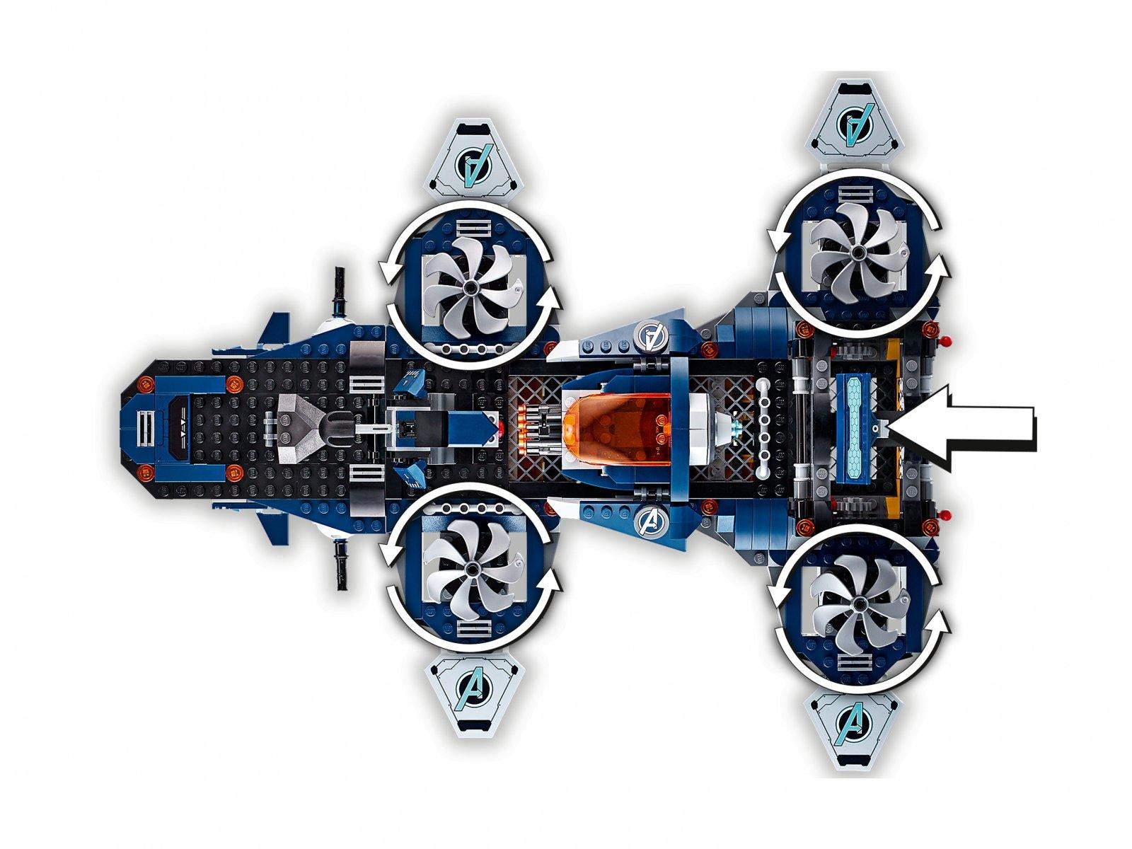 LEGO Marvel Avengers 76153 Avengers Lotniskowiec