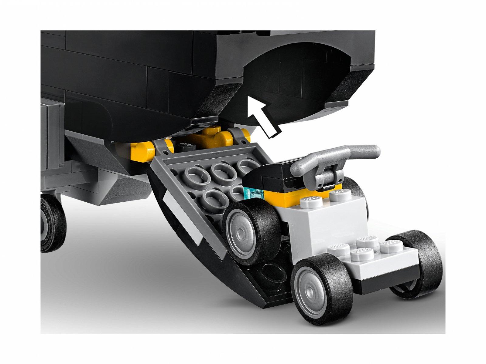 LEGO Marvel Avengers Czarna Wdowa i pościg helikopterem 76162