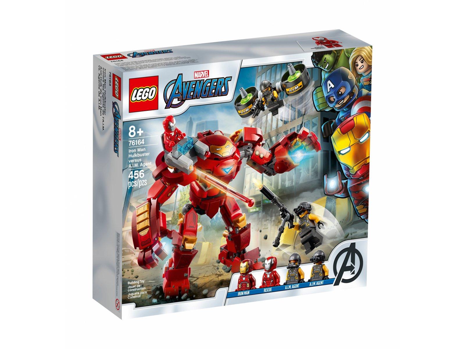 LEGO Marvel Avengers Hulkbuster Iron Mana kontra agenci A.I.M. 76164