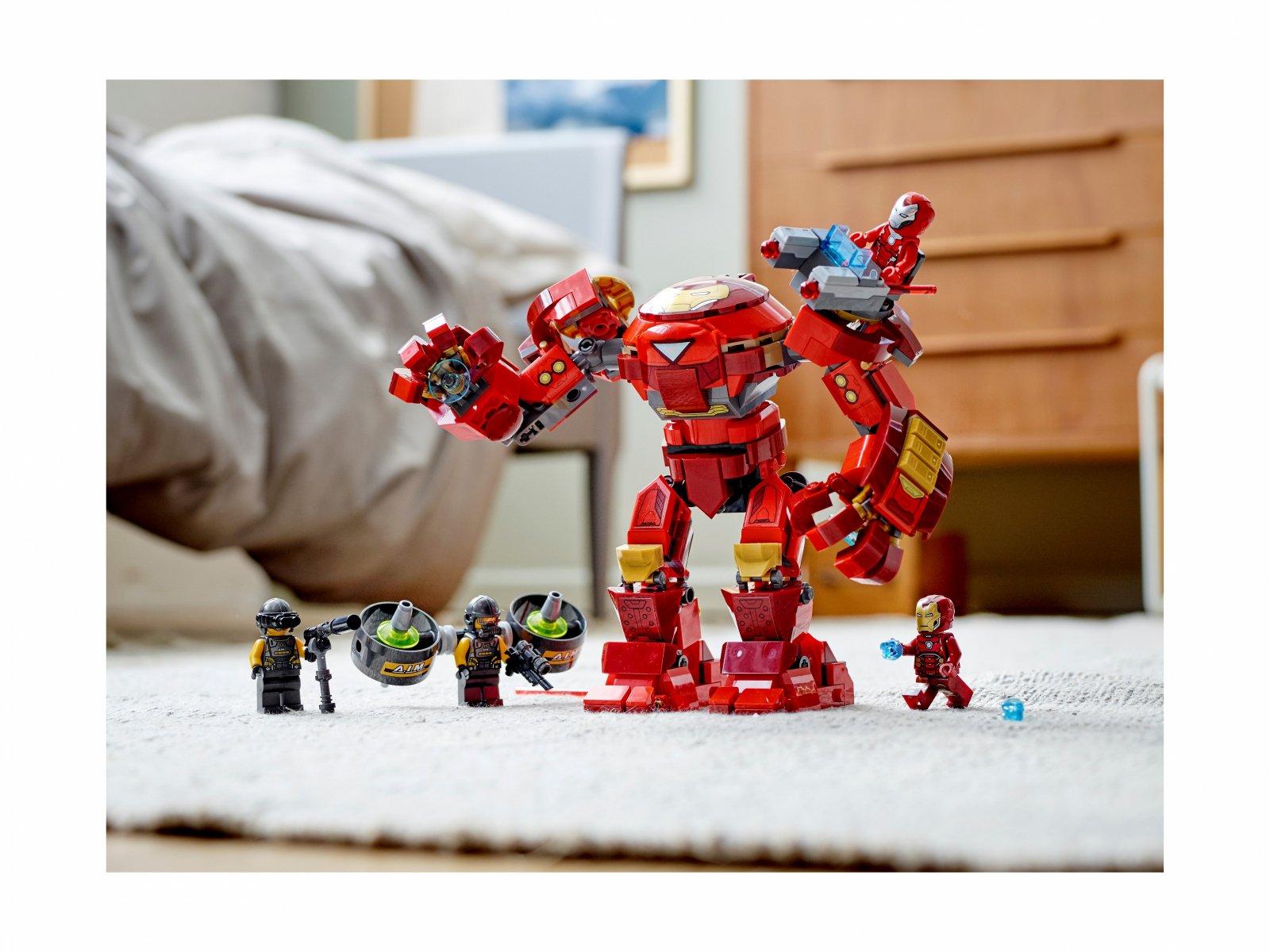 LEGO 76164 Hulkbuster Iron Mana kontra agenci A.I.M.