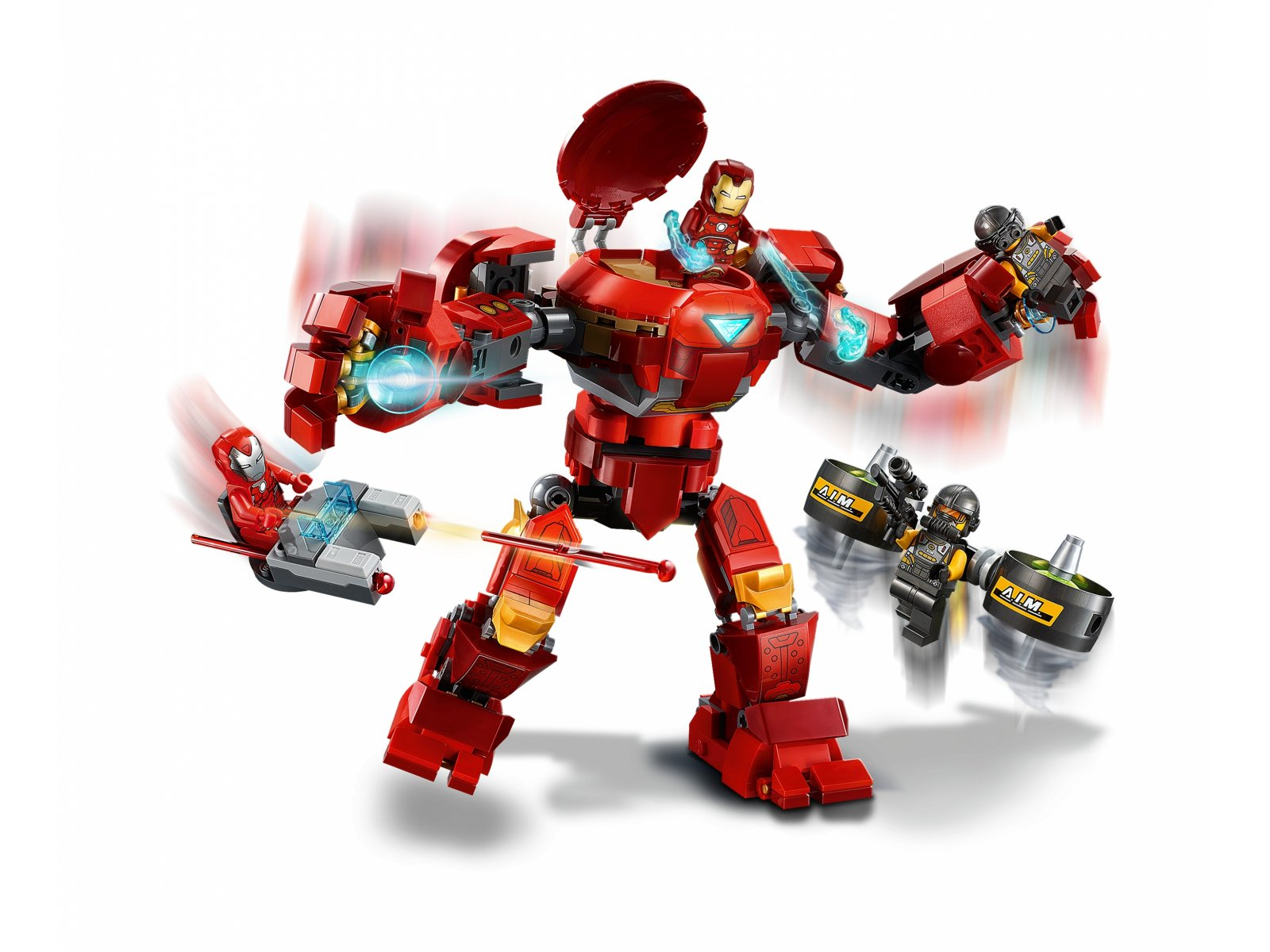 LEGO Marvel Avengers 76164 Hulkbuster Iron Mana kontra agenci A.I.M.