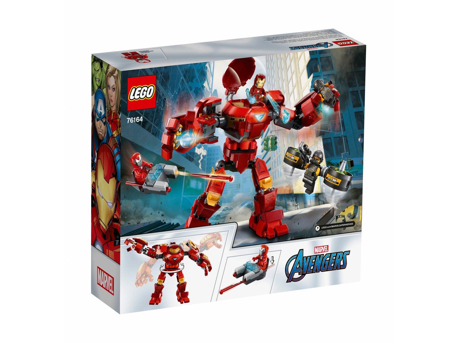 LEGO 76164 Marvel Avengers Hulkbuster Iron Mana kontra agenci A.I.M.