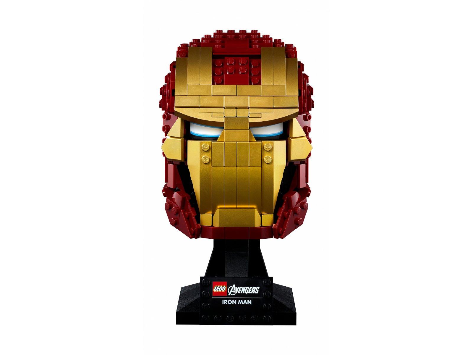 LEGO 76165 Marvel Avengers Hełm Iron Mana