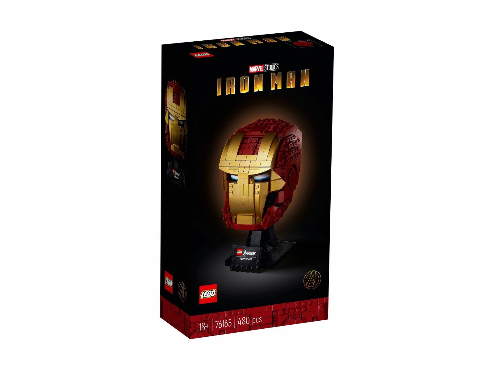 LEGO Marvel Avengers Hełm Iron Mana 76165