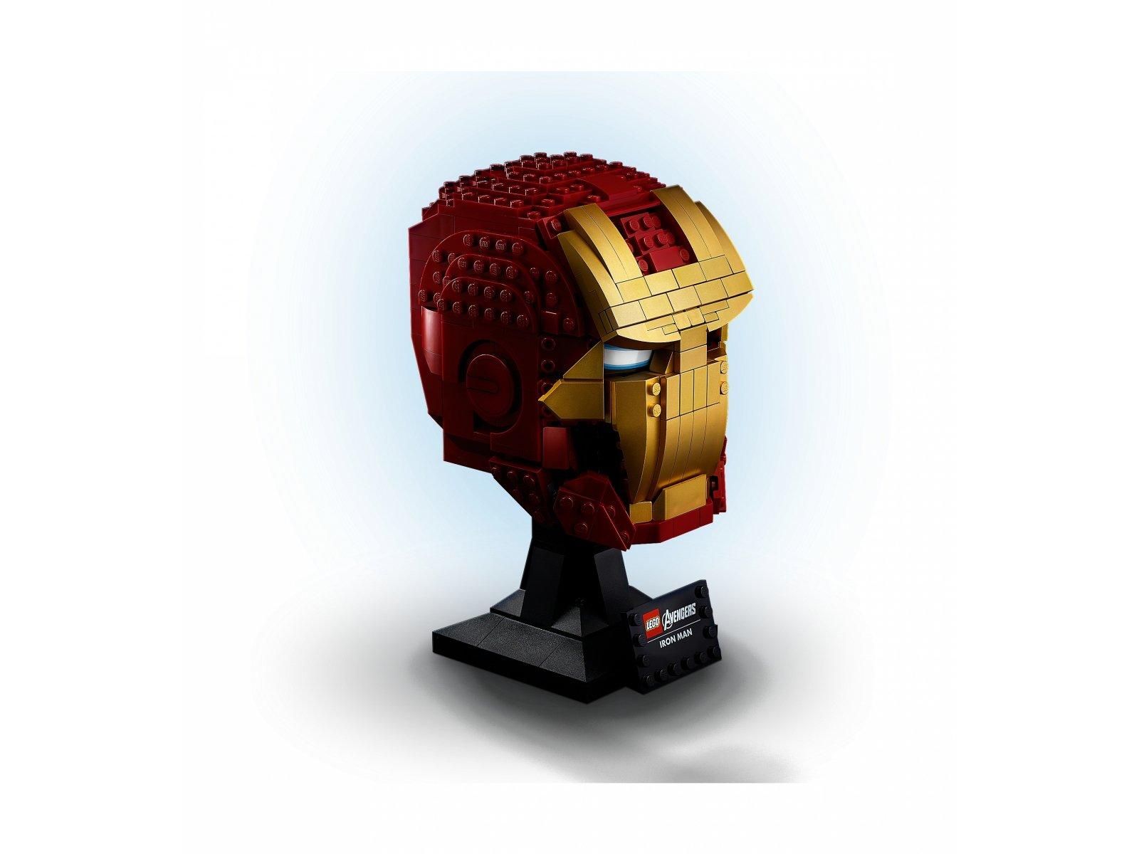 LEGO Marvel Avengers 76165 Hełm Iron Mana