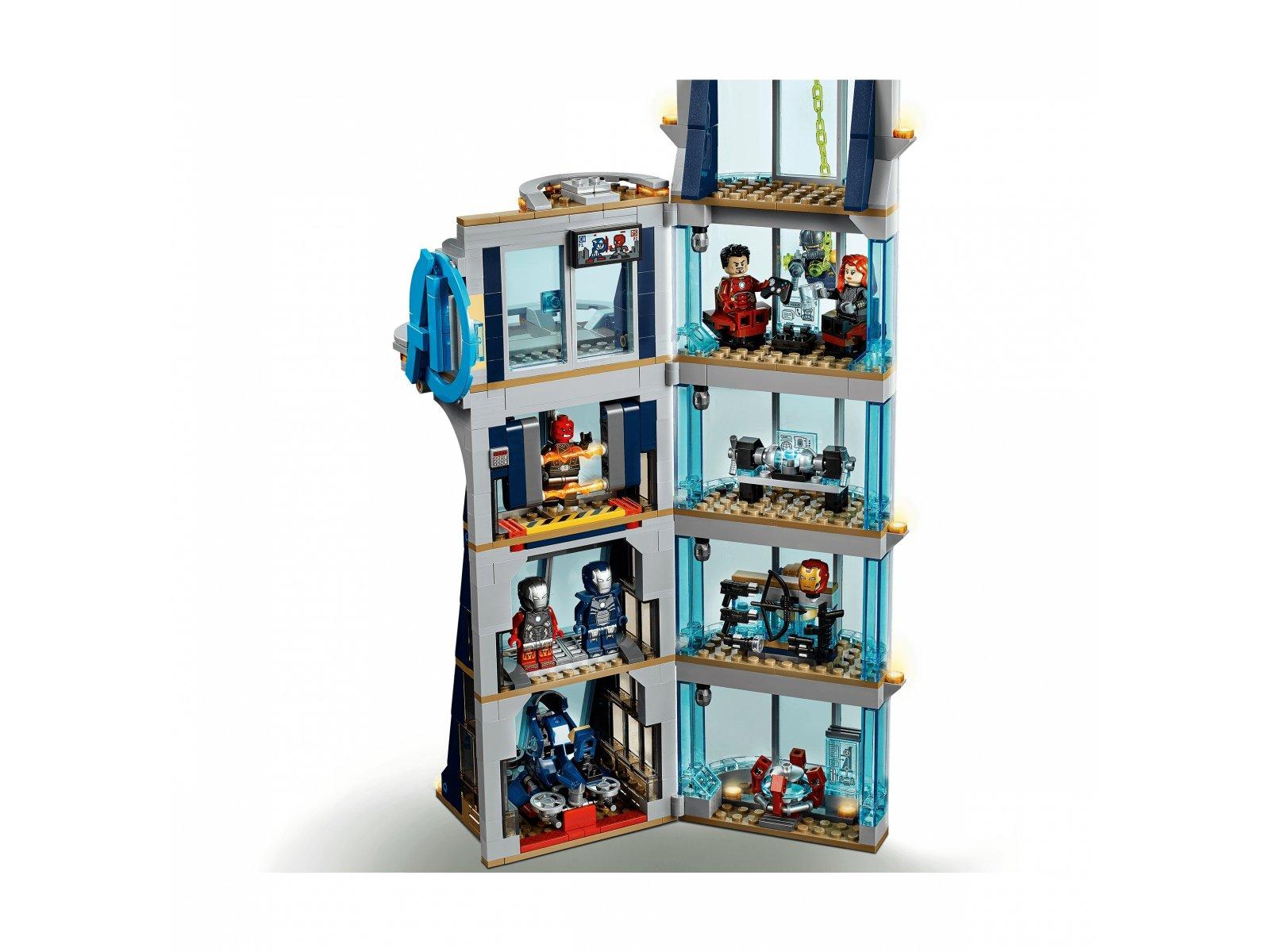 LEGO 76166 Marvel Avengers Walka o Wieżę Avengersów