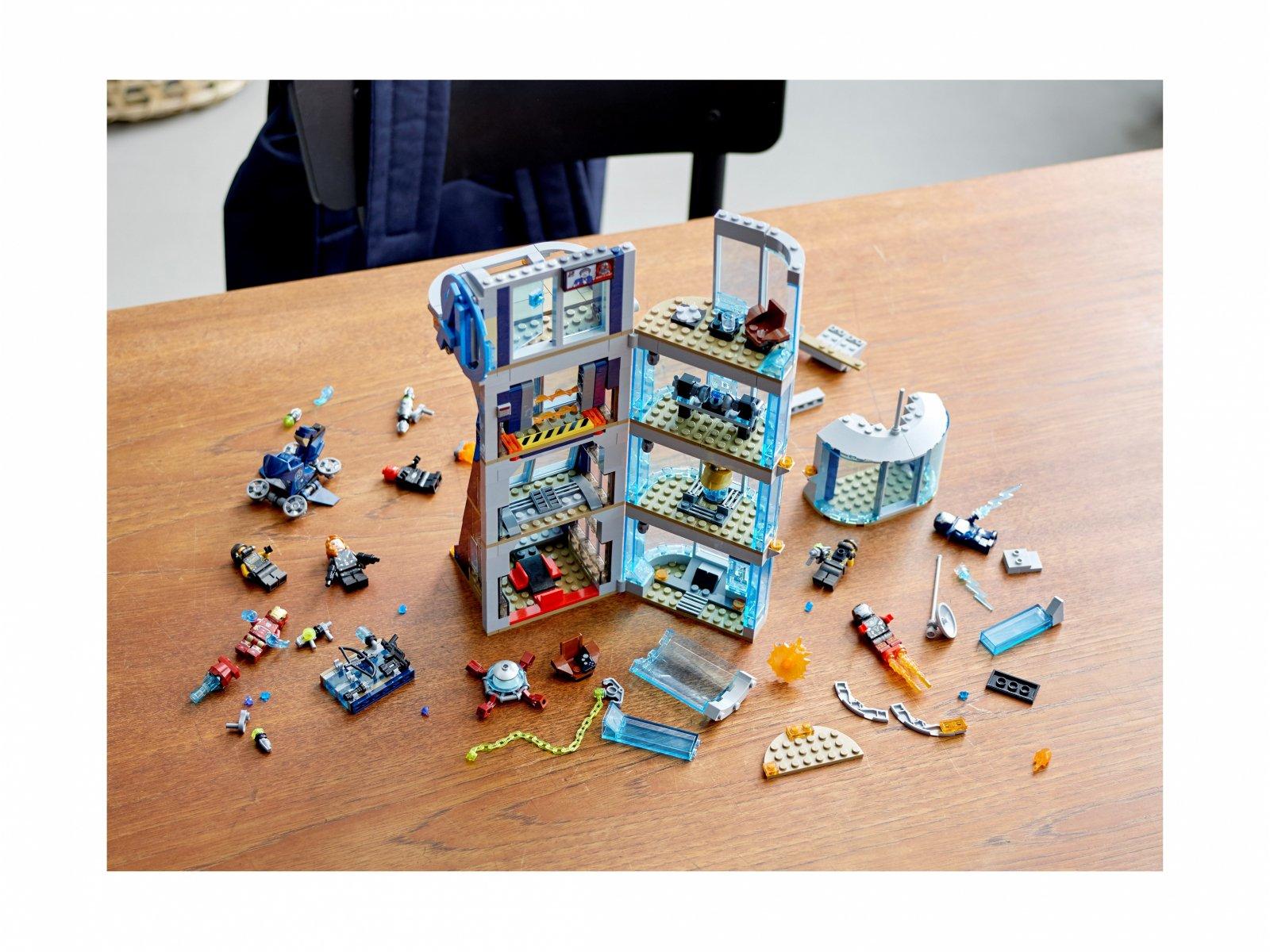 LEGO Marvel Avengers Walka o Wieżę Avengersów 76166
