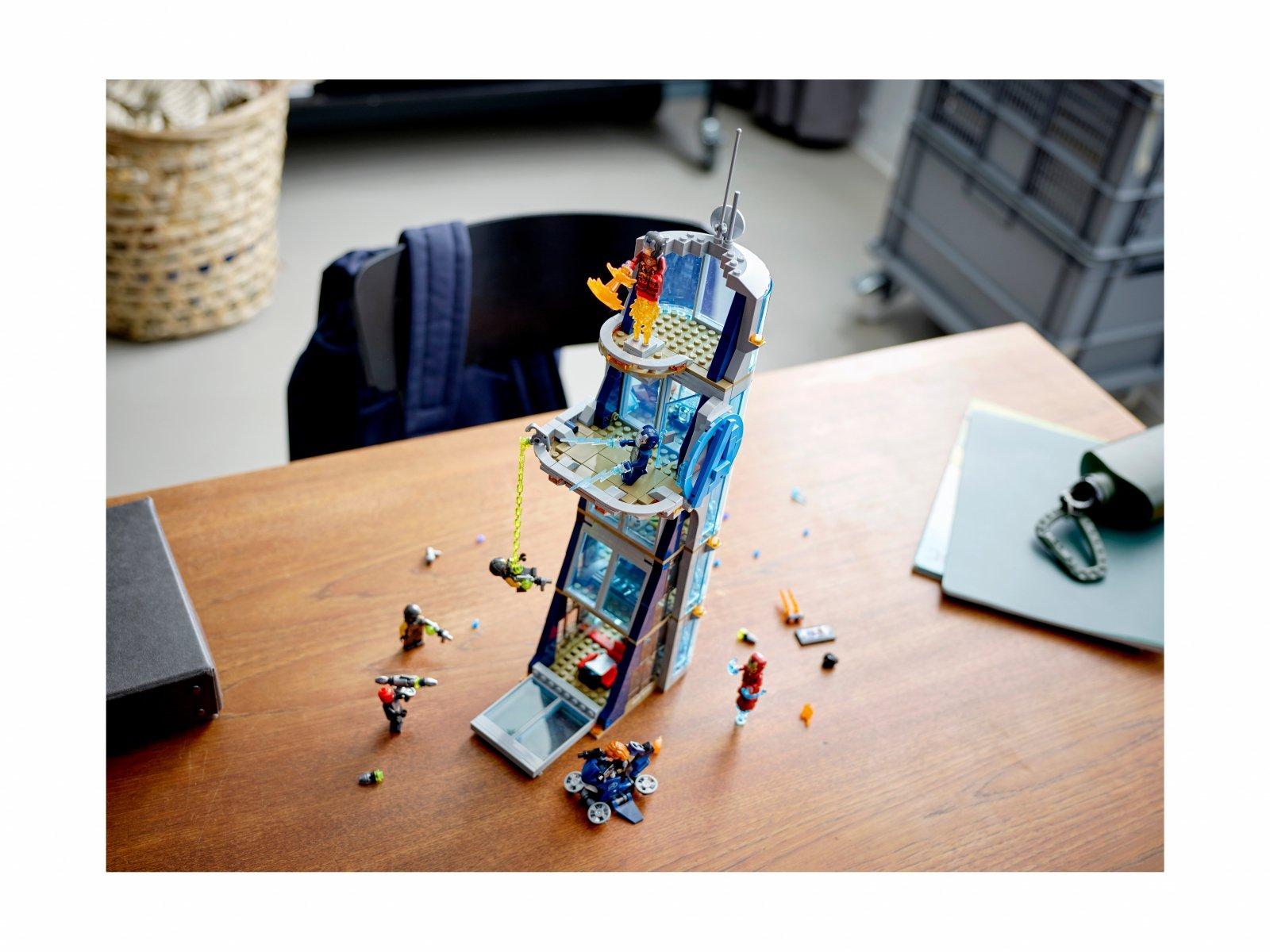 LEGO Marvel Avengers 76166 Walka o Wieżę Avengersów