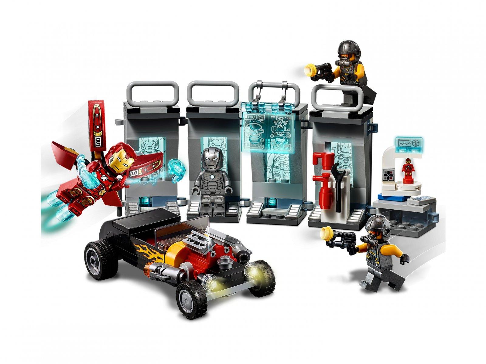 LEGO Marvel Avengers 76167 Zbrojownia Iron Mana