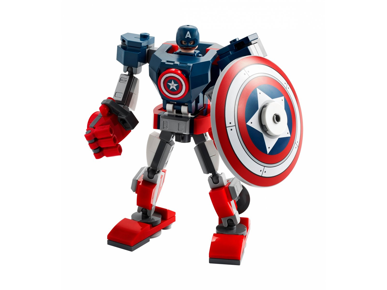 LEGO Marvel Avengers 76168 Opancerzony mech Kapitana Ameryki