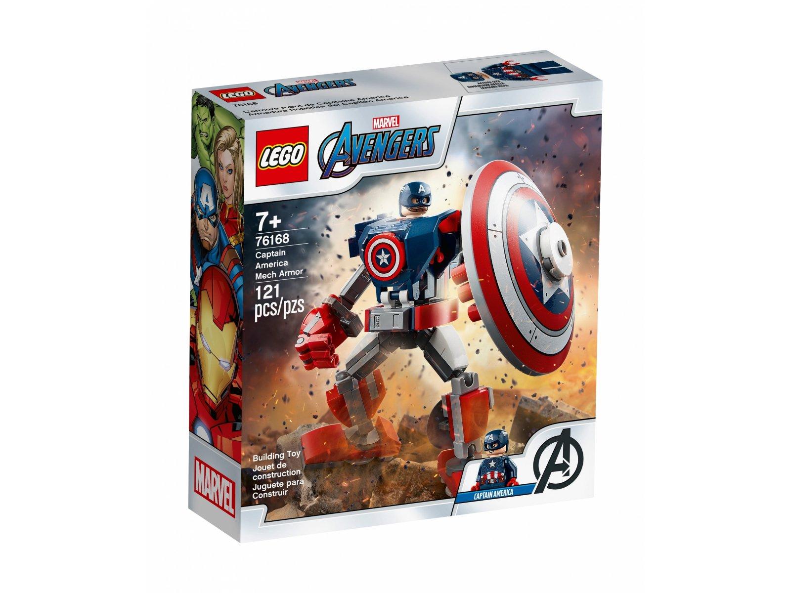 LEGO Marvel Avengers Opancerzony mech Kapitana Ameryki 76168