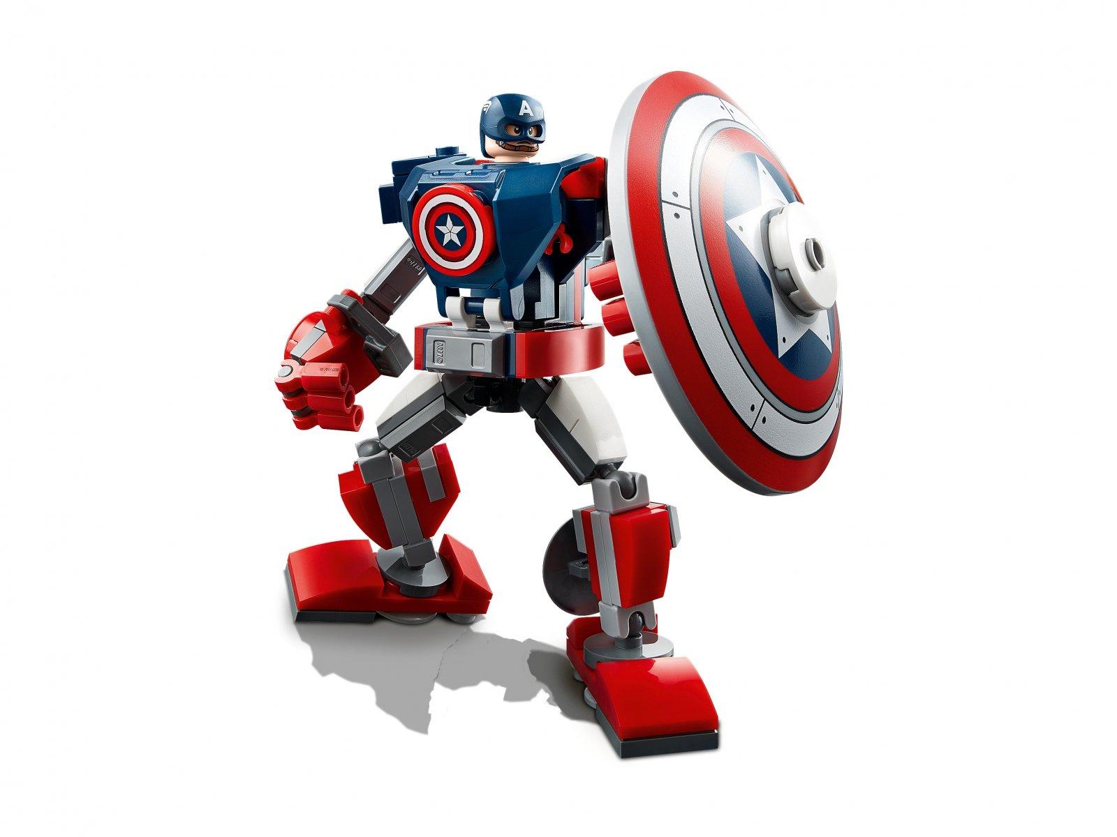 LEGO 76168 Marvel Avengers Opancerzony mech Kapitana Ameryki