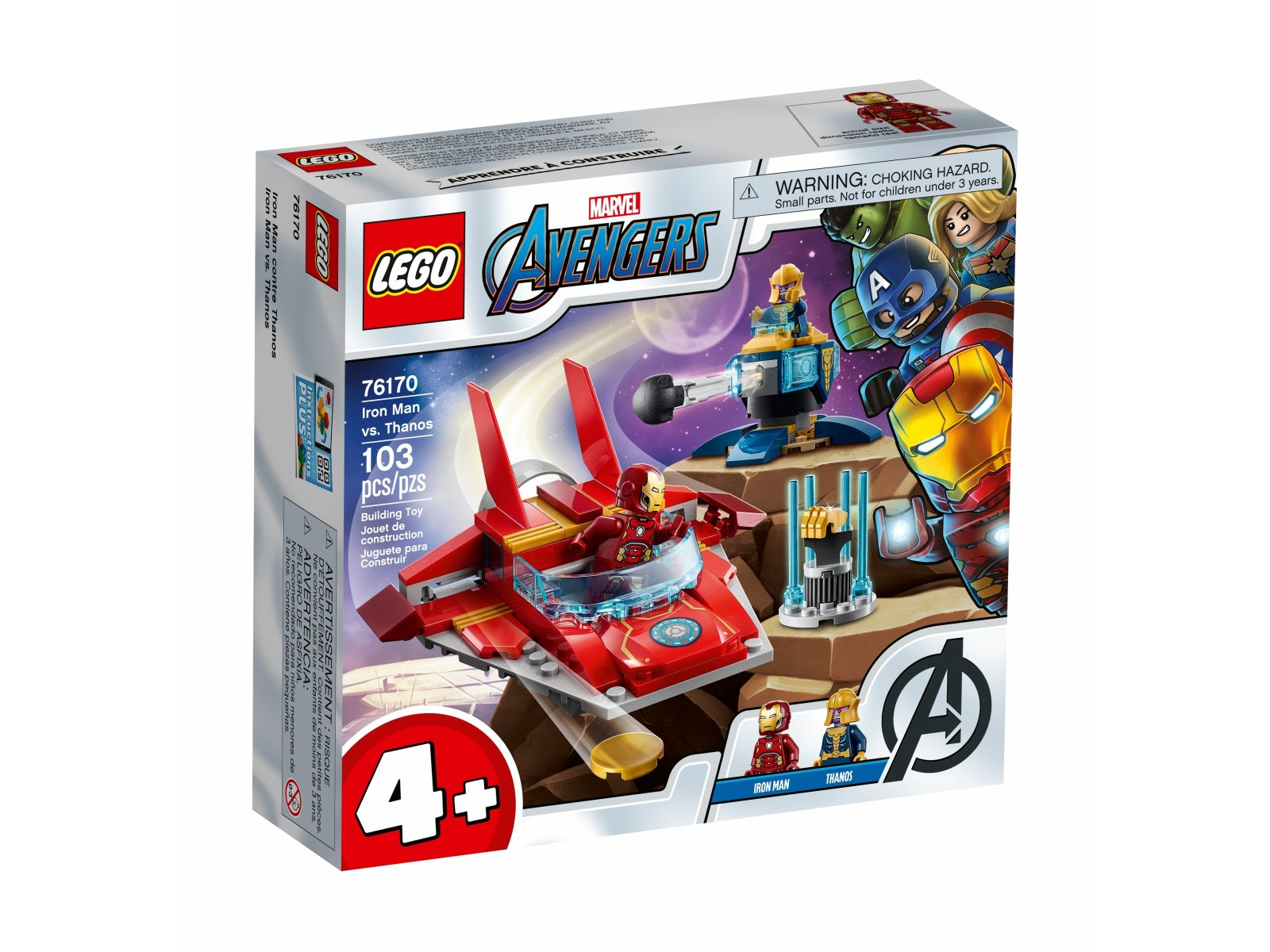 LEGO Marvel Avengers 76170 Iron Man kontra Thanos