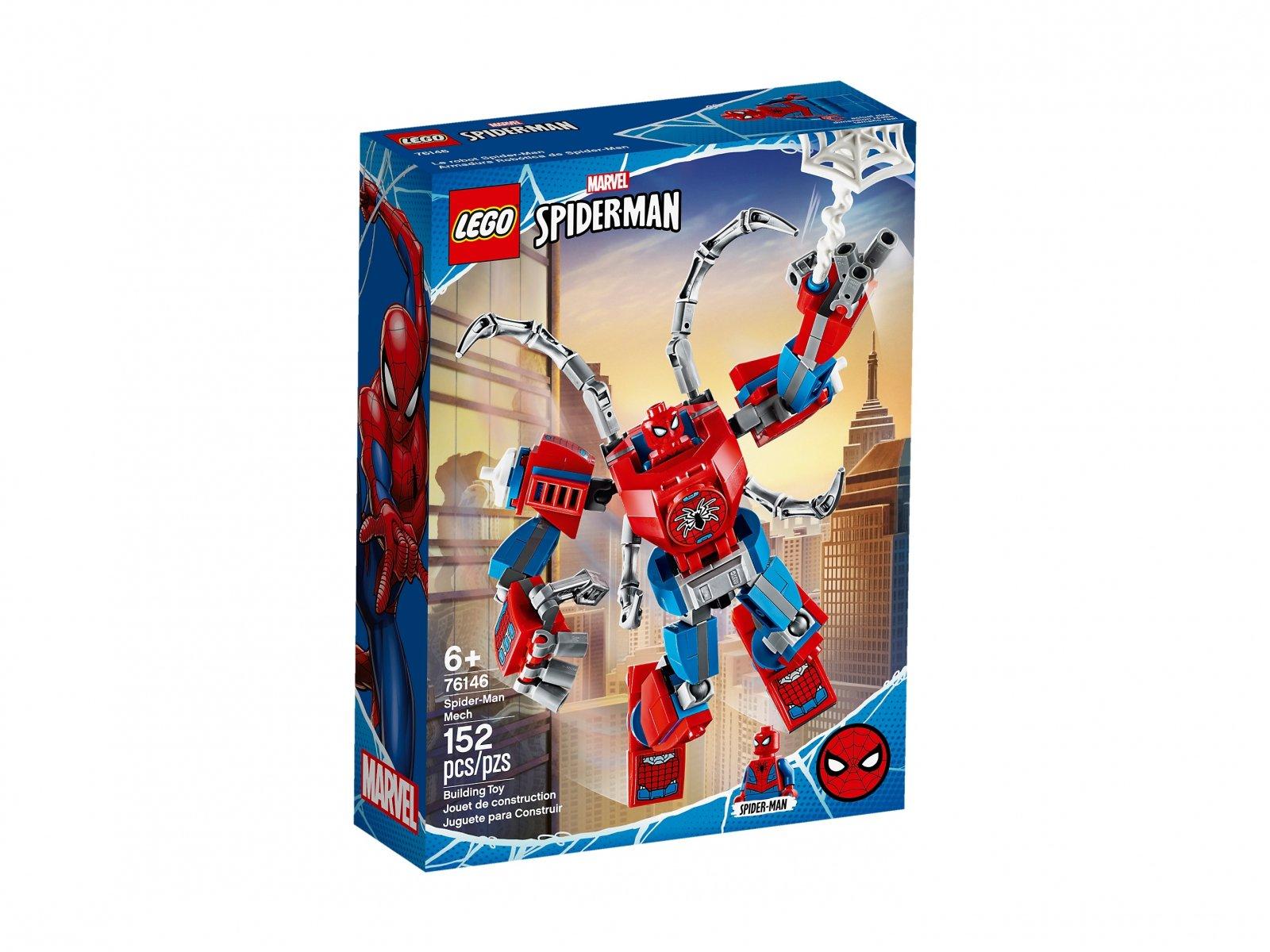 LEGO Marvel Spider-Man Mech Spider-Mana 76146