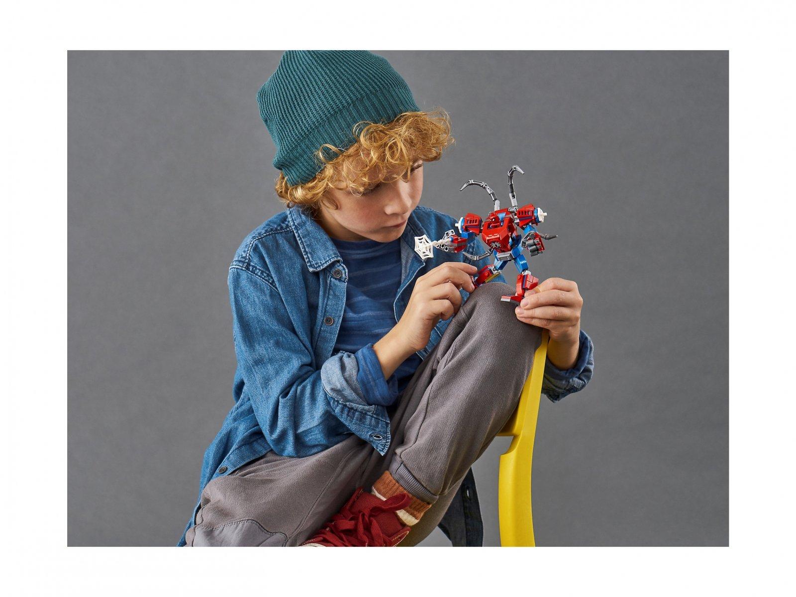LEGO Marvel Spider-Man 76146 Mech Spider-Mana