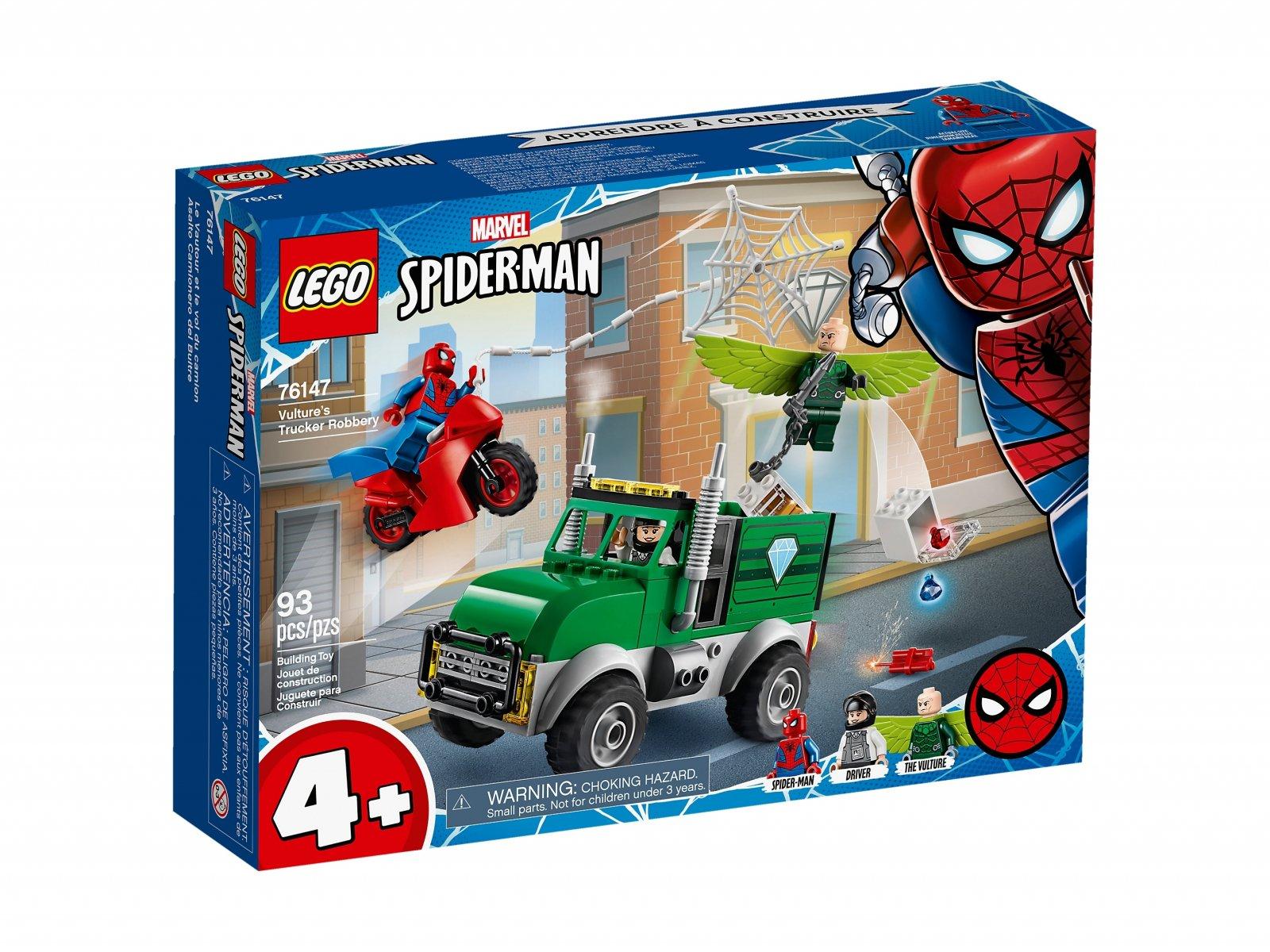 LEGO 76147 Marvel Spider-Man Napad Sępa na furgonetkę