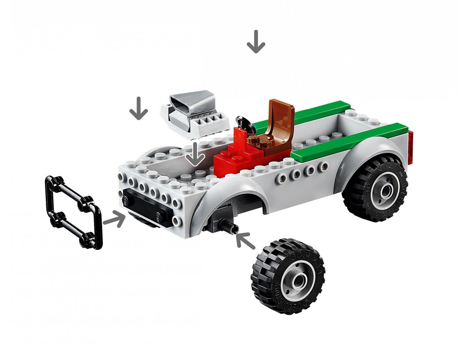 LEGO Marvel Spider-Man 76147 Napad Sępa na furgonetkę