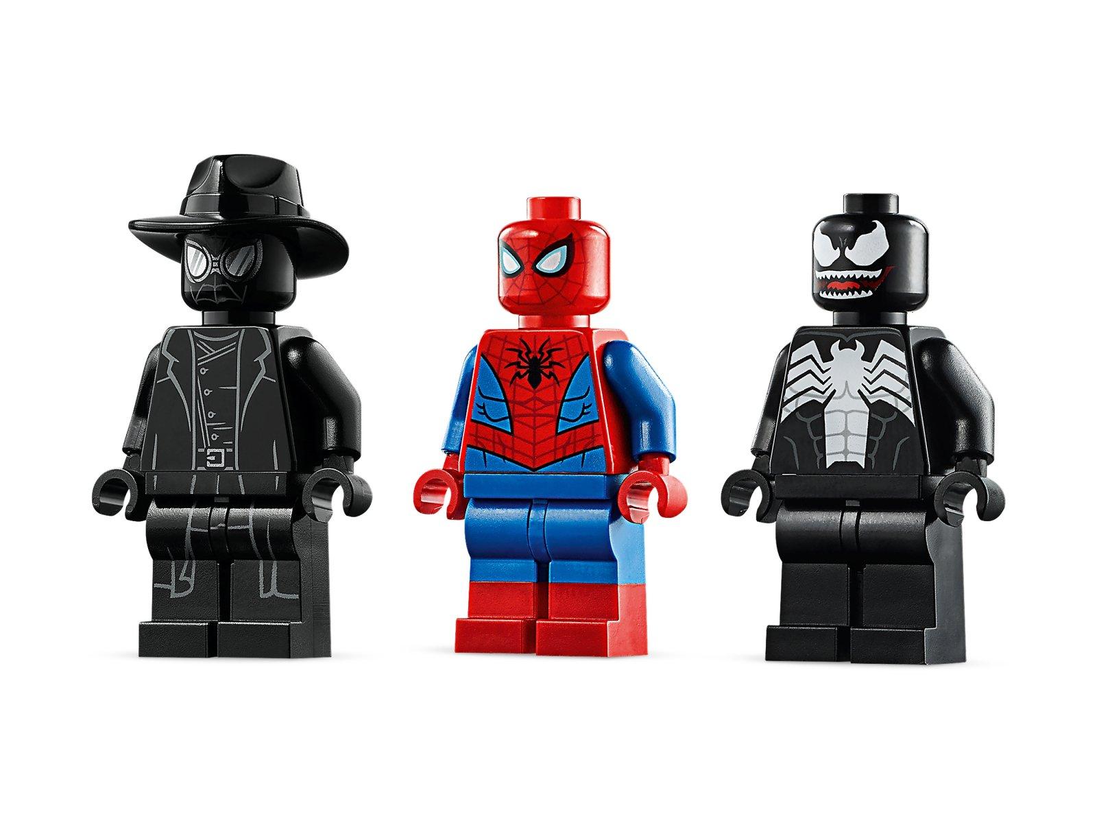 LEGO Marvel Spider-Man Pajęczy odrzutowiec kontra mech Venoma 76150
