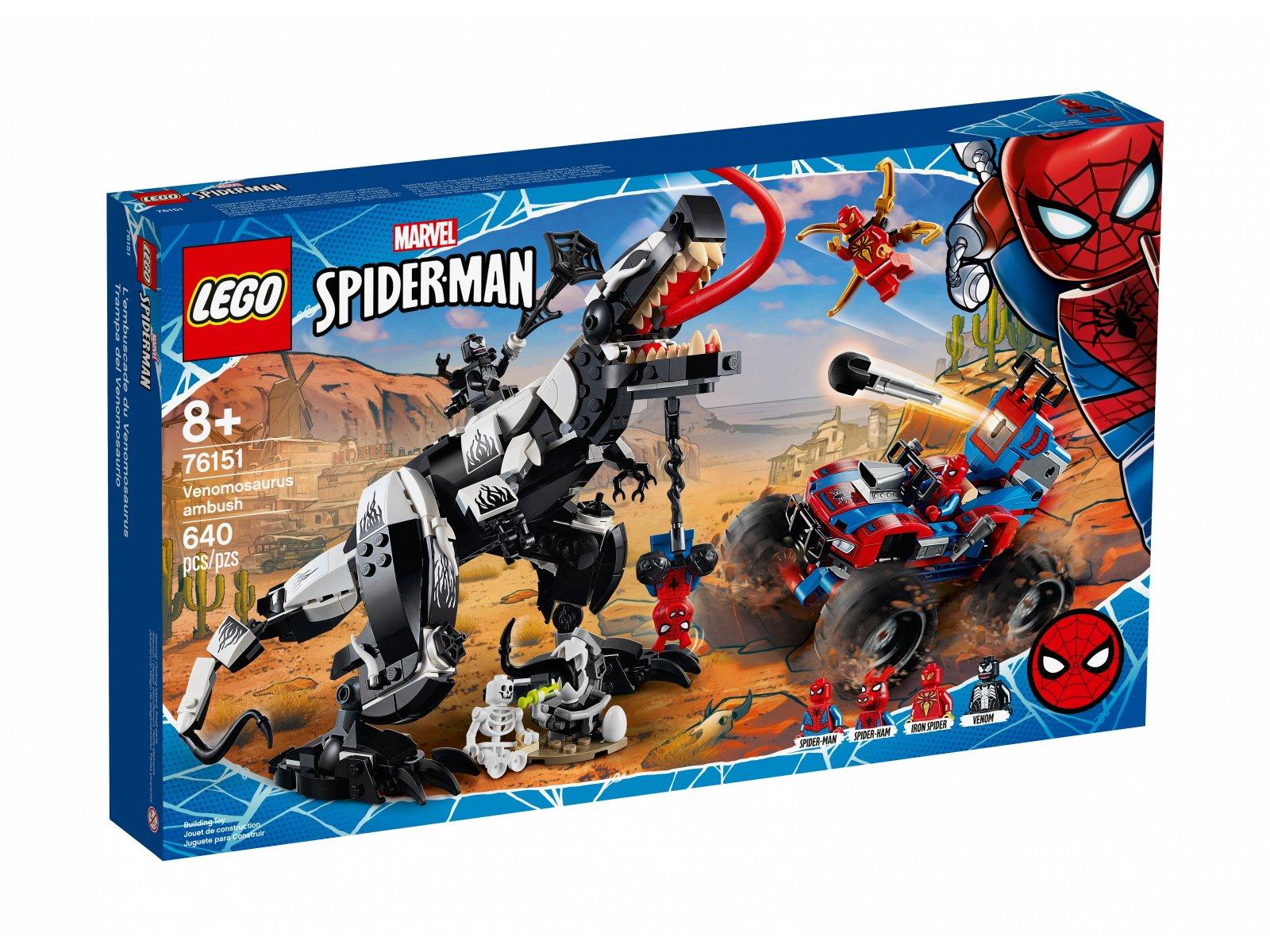 LEGO 76151 Starcie z Venomozaurem