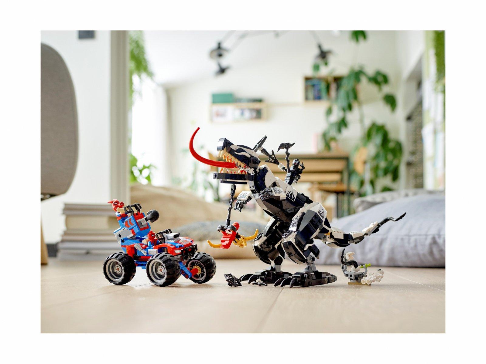 LEGO Marvel Spider-Man 76151 Starcie z Venomozaurem
