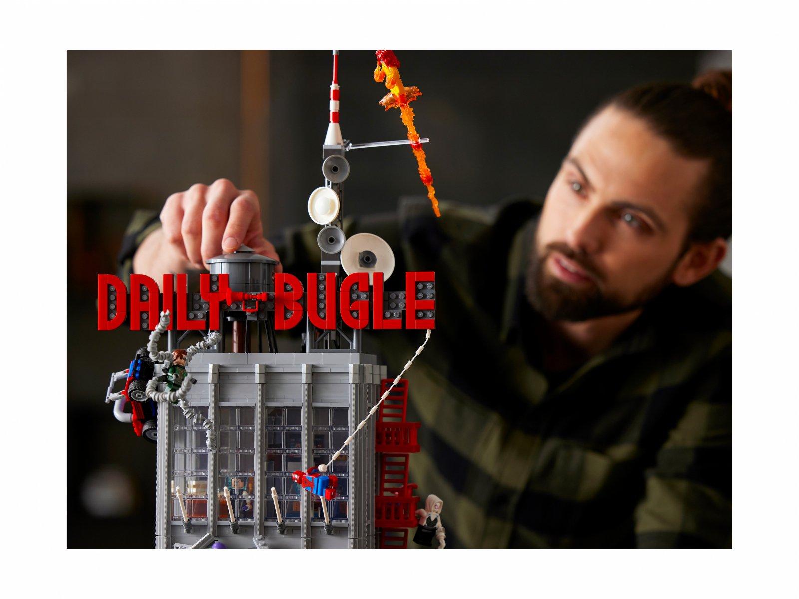 LEGO Marvel Spider-Man Daily Bugle 76178