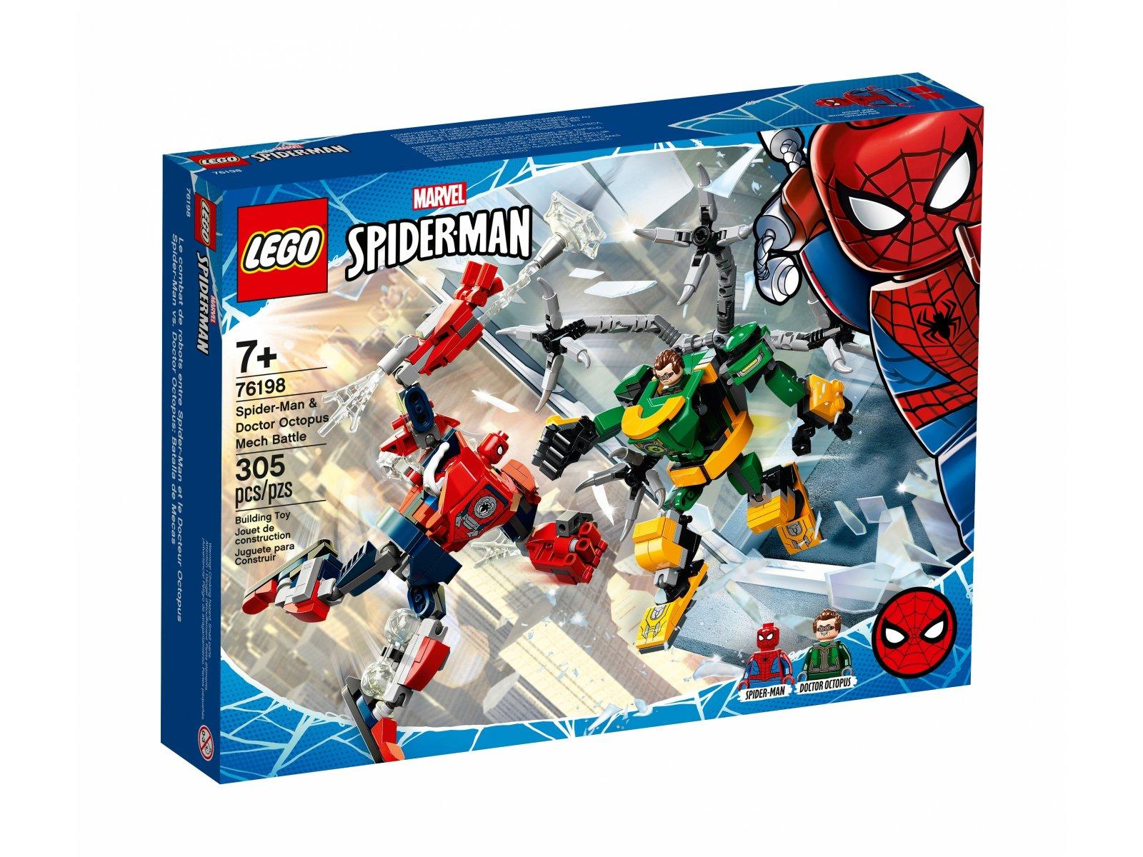 LEGO 76198 Bitwa mechów Spider-Mana i Doktora