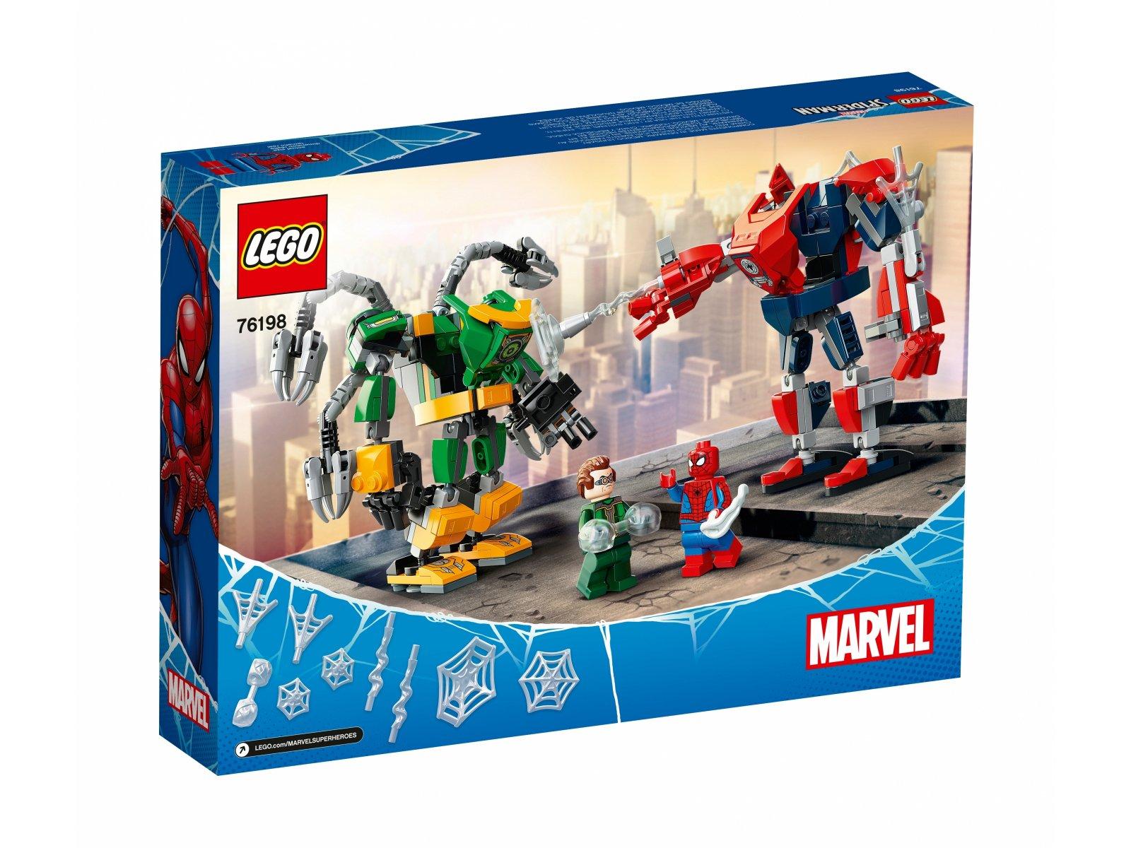 LEGO Marvel Spider-Man Bitwa mechów Spider-Mana i Doktora 76198