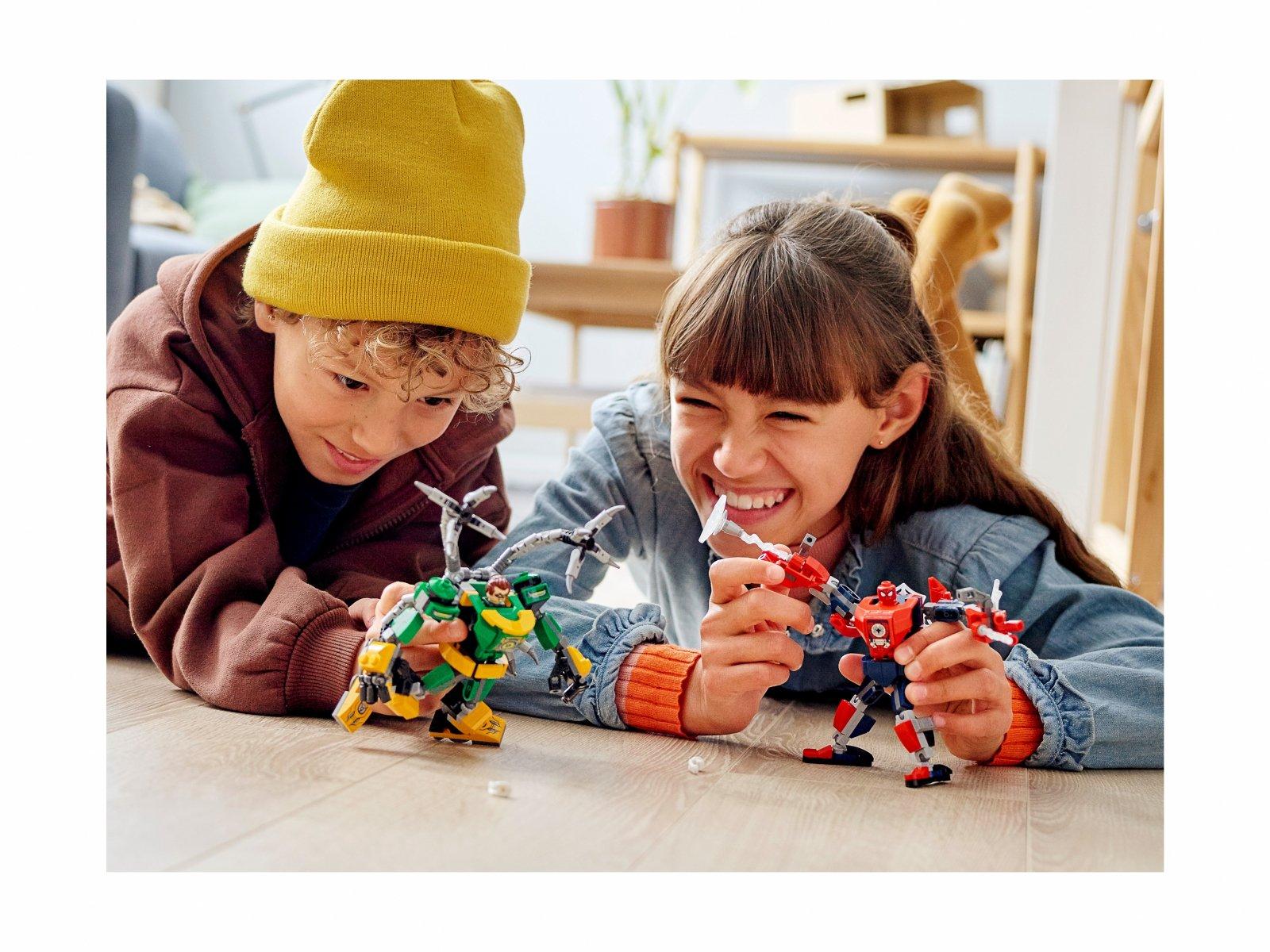 LEGO Marvel Spider-Man 76198 Bitwa mechów Spider-Mana i Doktora