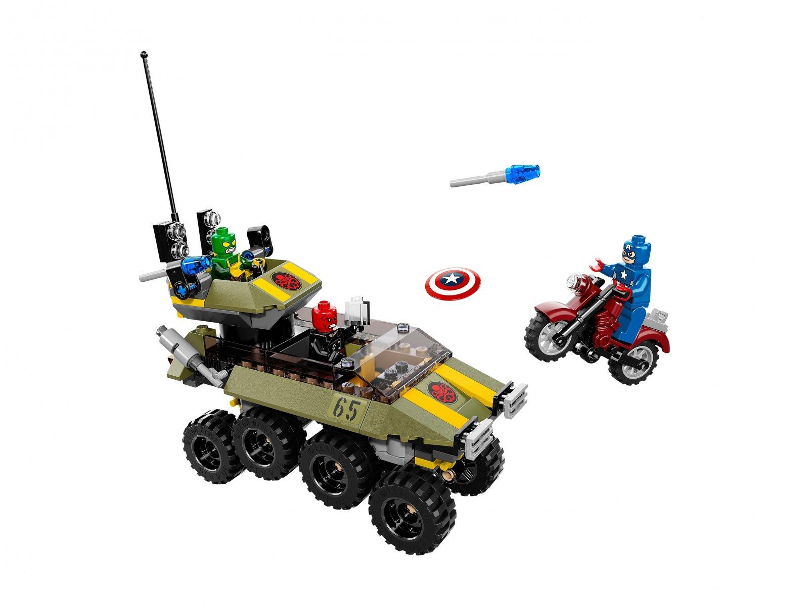 LEGO 76017 Marvel Super Heroes Captain America™ kontra Hydra™