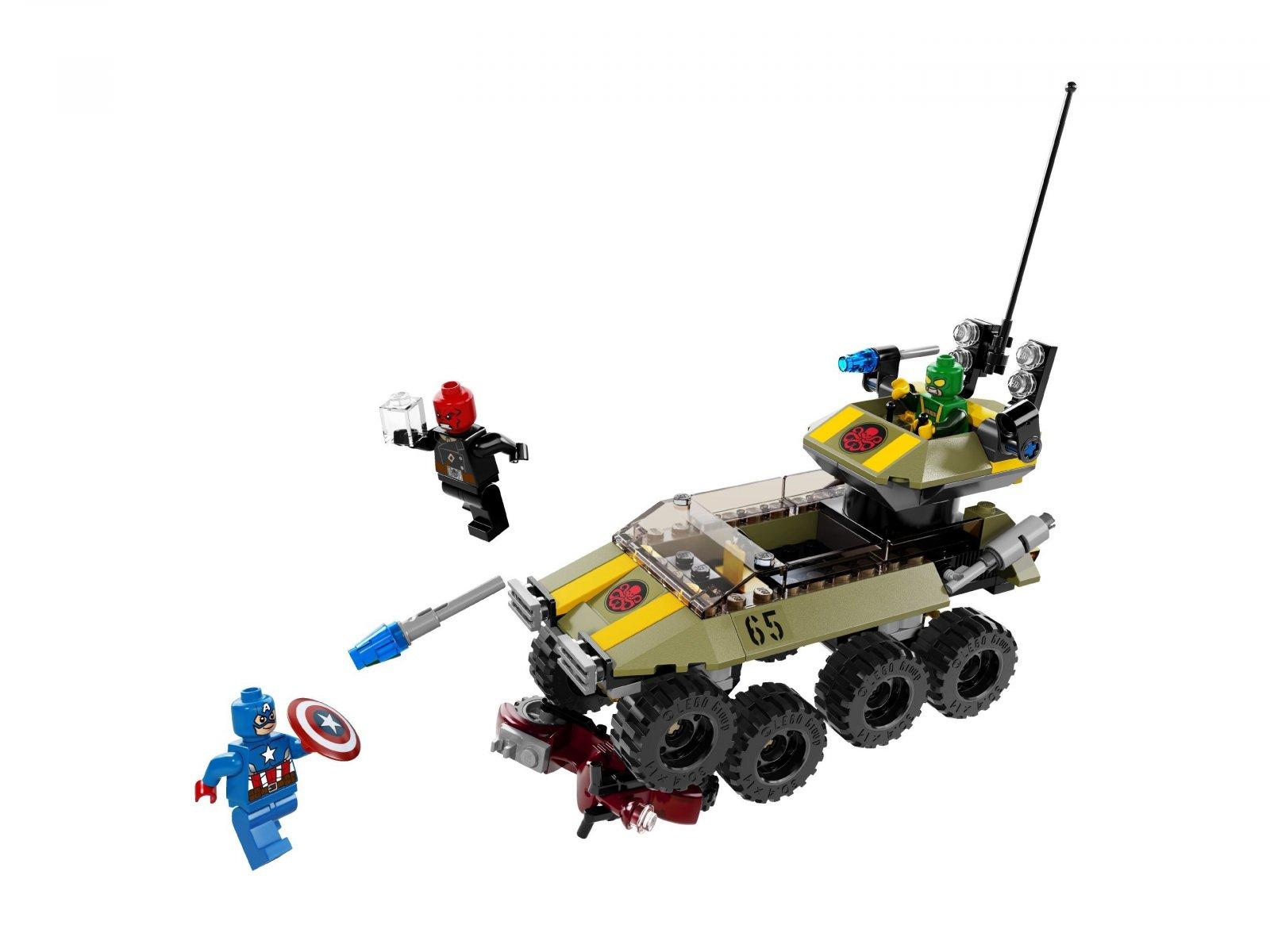 LEGO Marvel Super Heroes Captain America™ kontra Hydra™ 76017