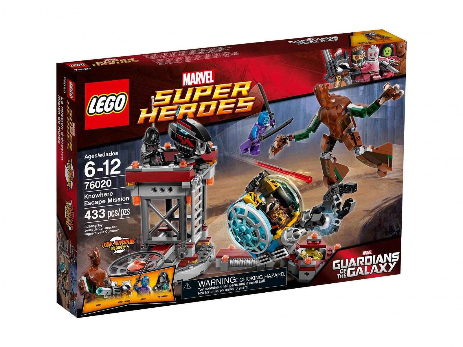 LEGO Marvel Super Heroes 76020 Ucieczka z bazy Knowhere