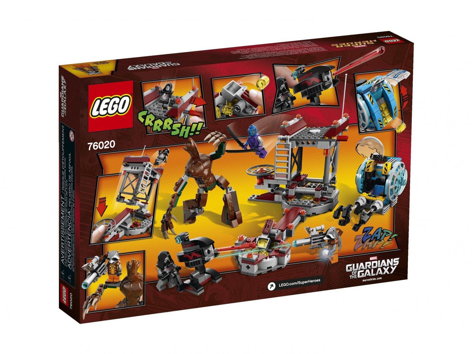 LEGO 76020 Marvel Super Heroes Ucieczka z bazy Knowhere