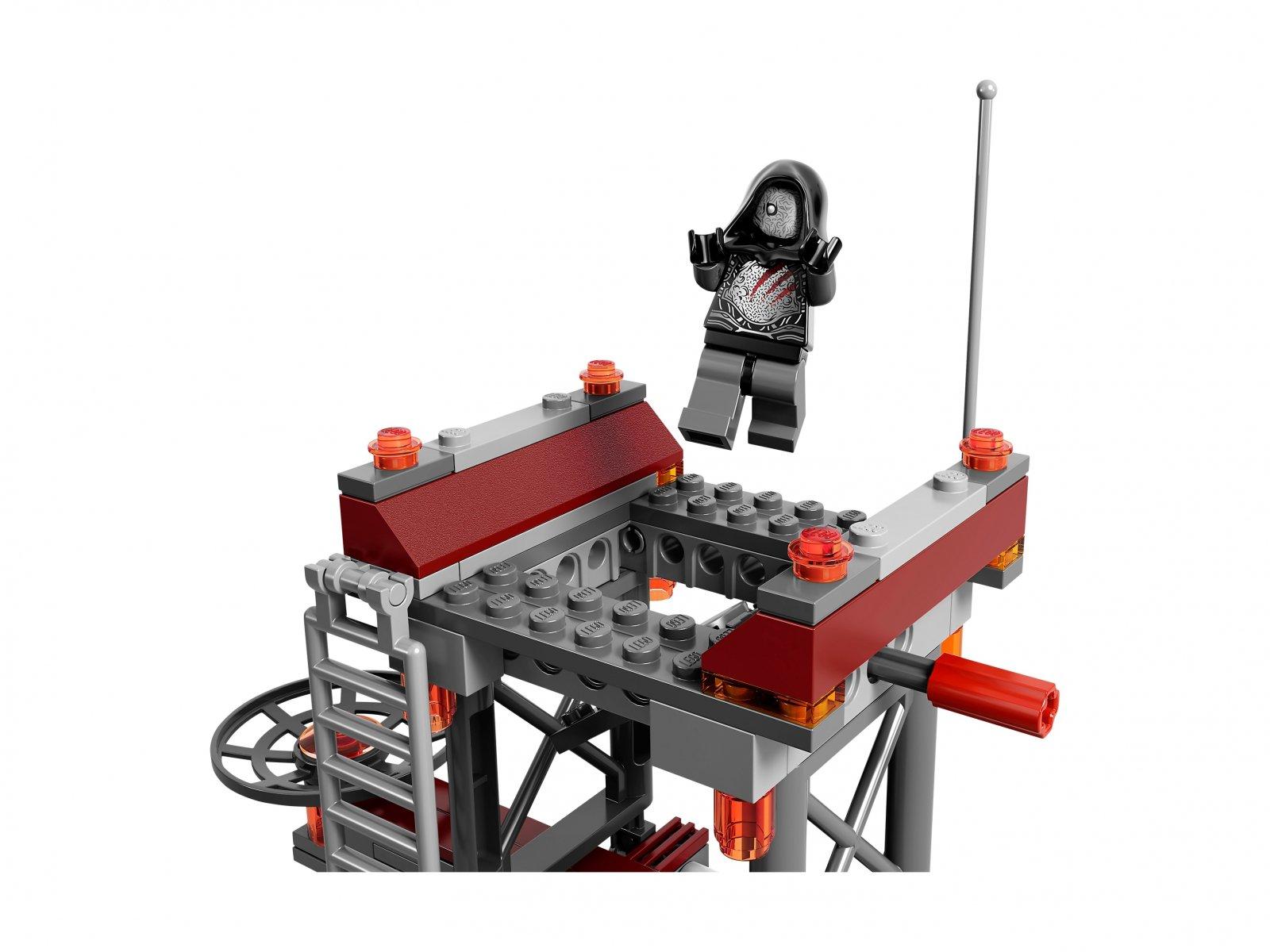 LEGO Marvel Super Heroes Ucieczka z bazy Knowhere 76020