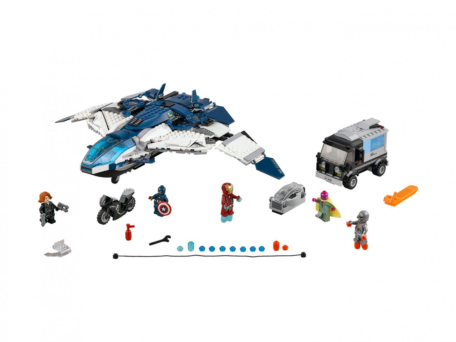 LEGO 76032 Pościg Avengersów w Quinjecie