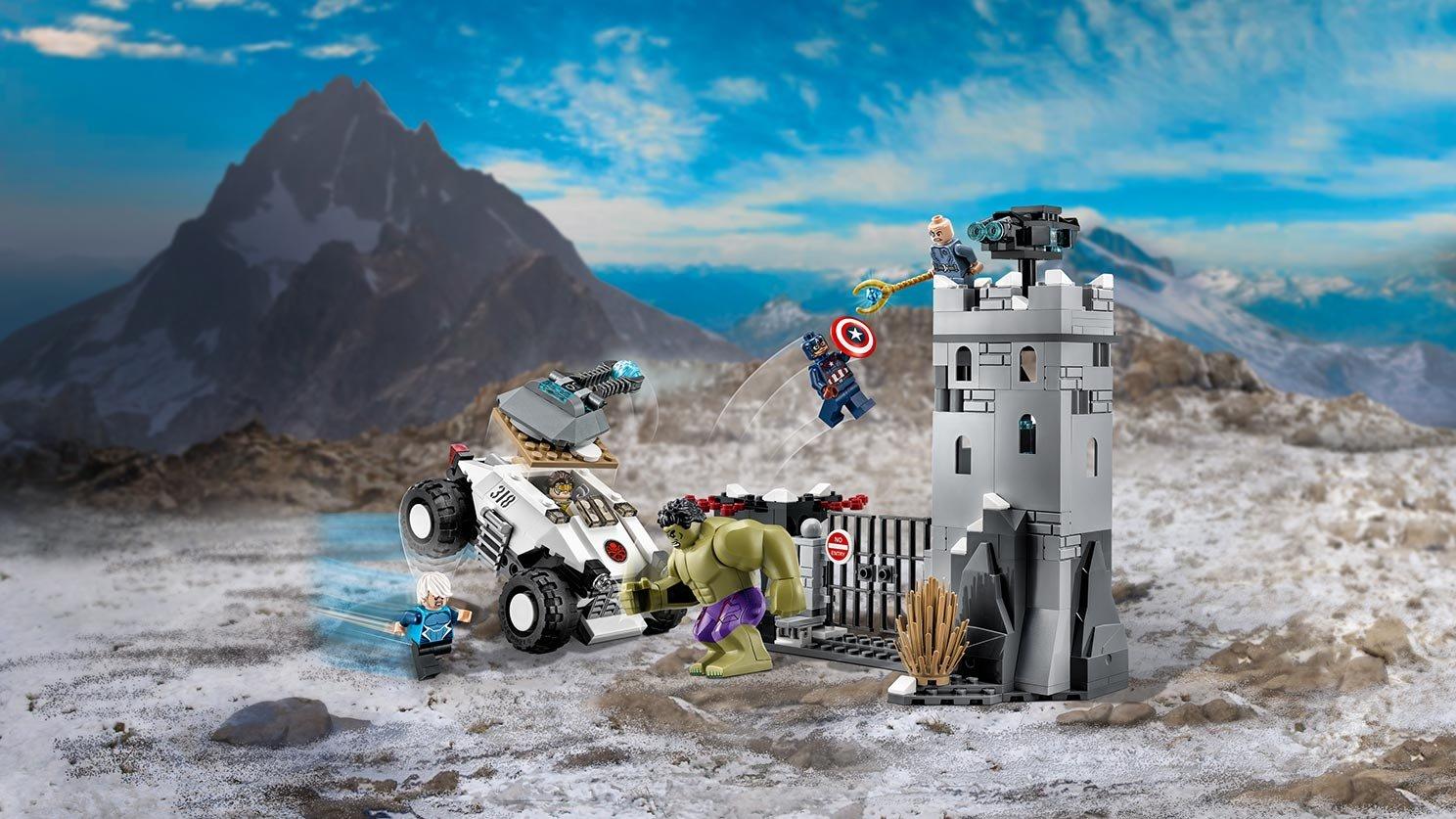 LEGO 76041 Demolka w Fortecy Hydry