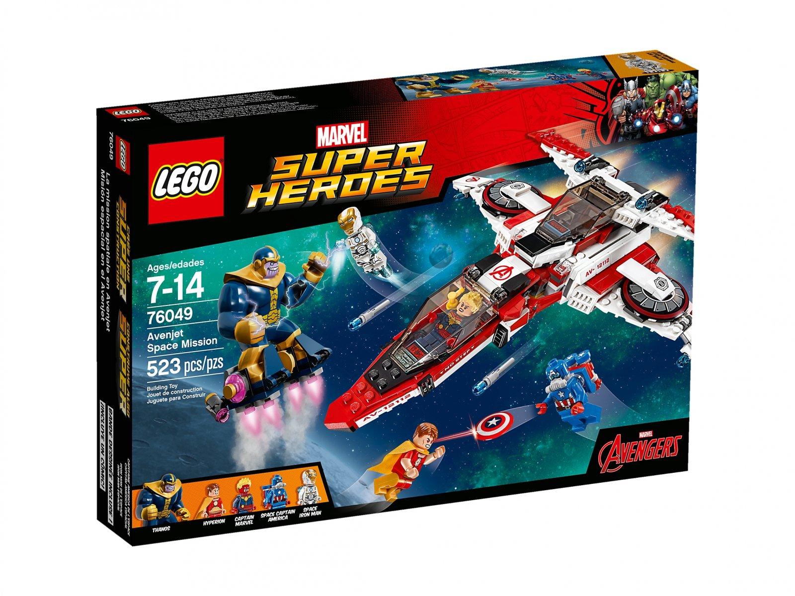 LEGO Marvel Super Heroes Kosmiczna misja