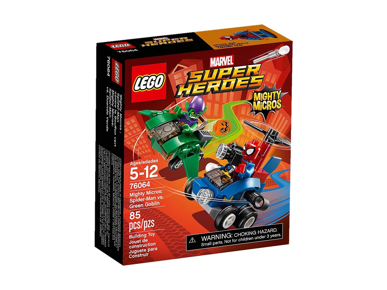 LEGO 76064 Marvel Super Heroes Spiderman kontra Zielony Goblin