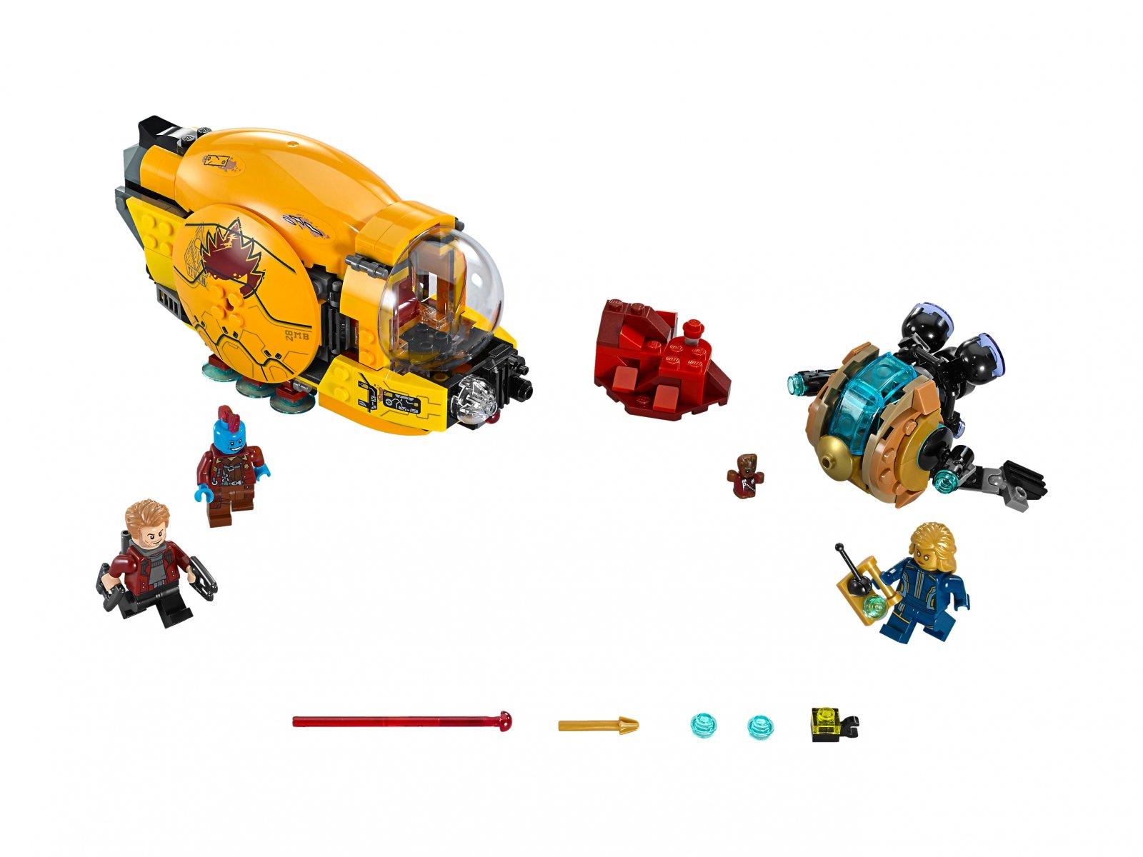 LEGO Marvel Super Heroes Zemsta Ayeshy 76080