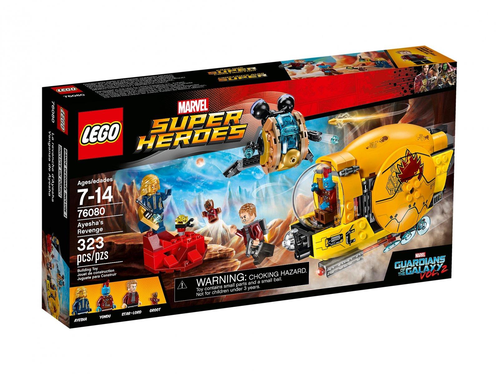 LEGO Marvel Super Heroes 76080 Zemsta Ayeshy