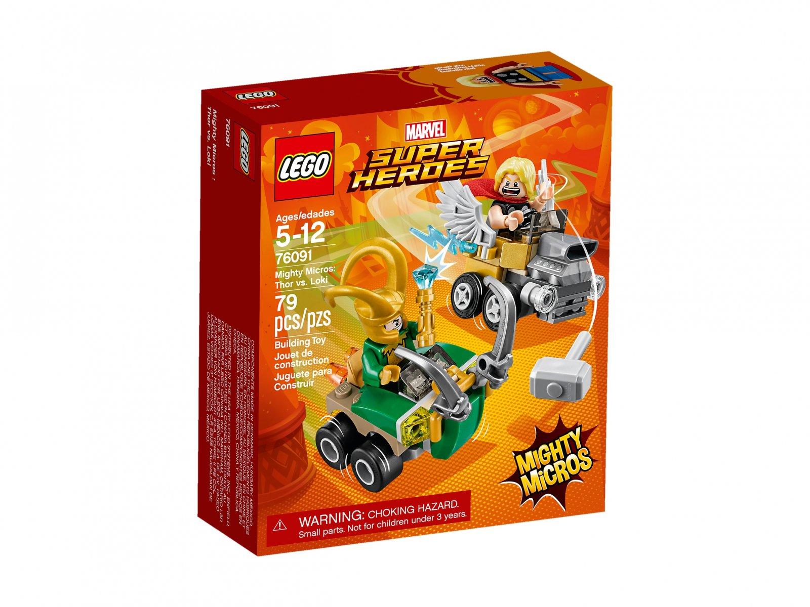 LEGO Marvel Super Heroes Thor vs. Loki 76091