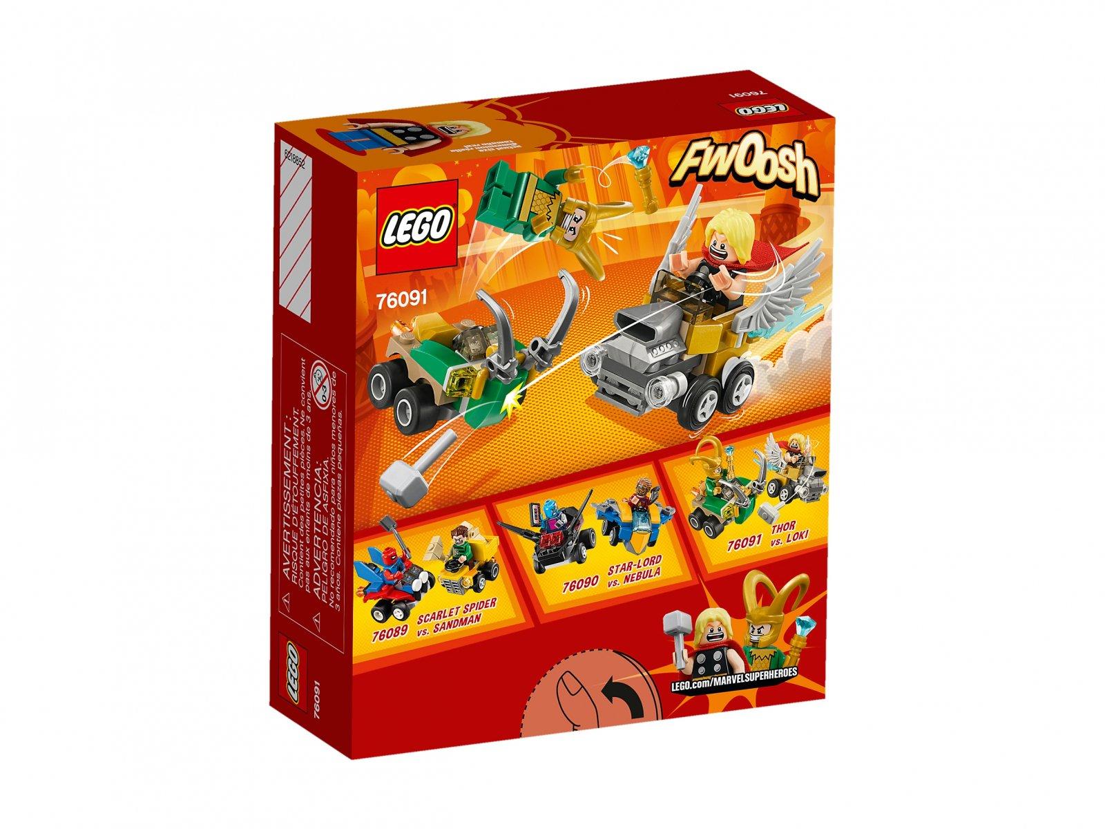 LEGO Marvel Super Heroes 76091 Thor vs. Loki