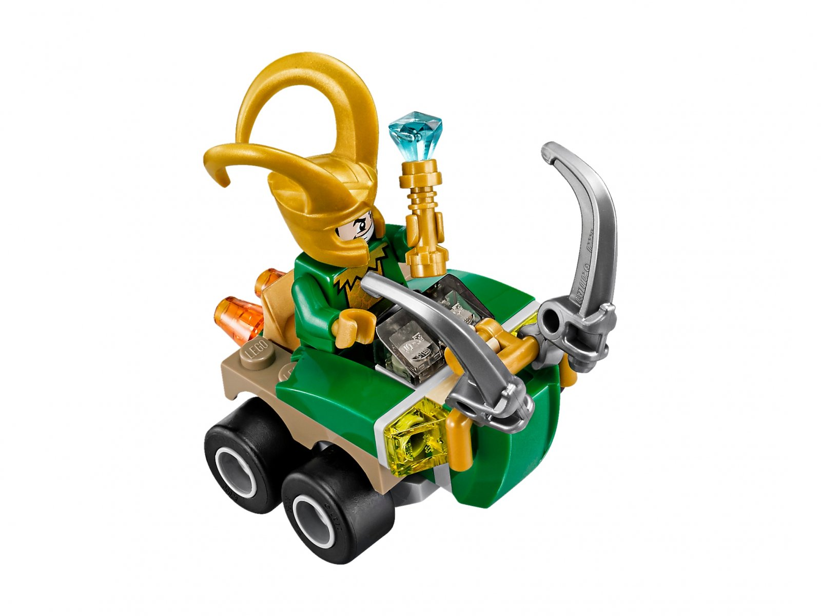LEGO 76091 Marvel Super Heroes Thor vs. Loki