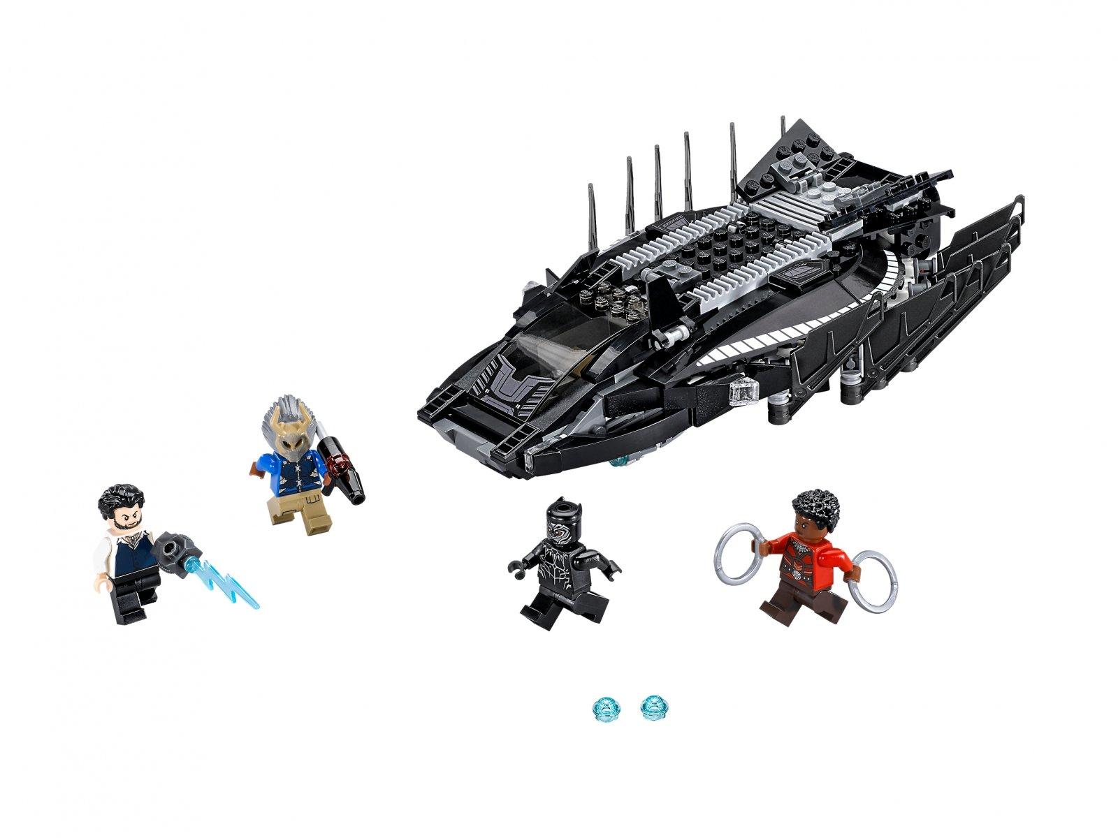 LEGO 76100 Marvel Super Heroes Atak myśliwca Royal Talon Fighter